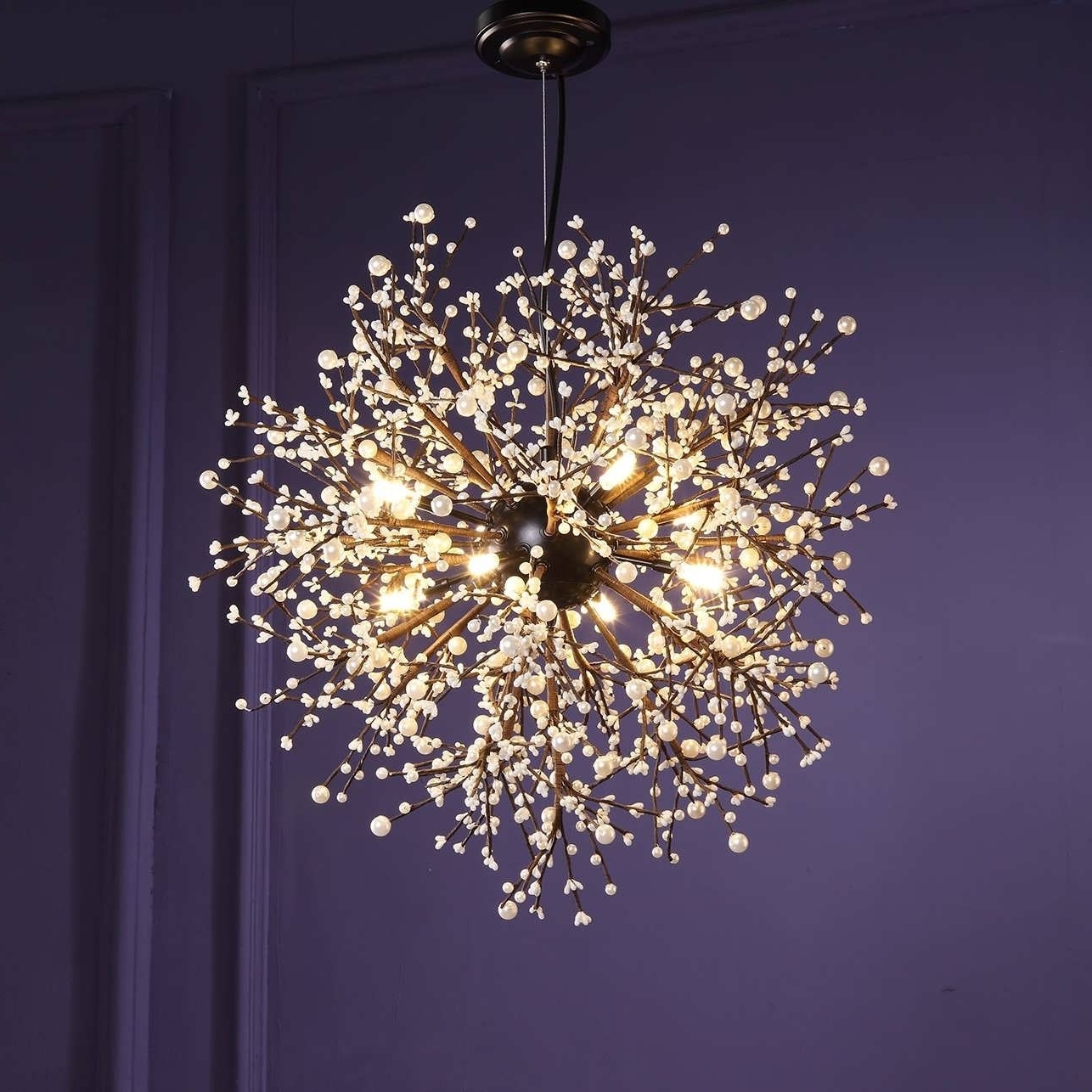 Popular Chandeliers Design : Marvelous Amazing Glass Ball Chandelier Light Pertaining To Turquoise Crystal Chandelier Lights (View 8 of 20)