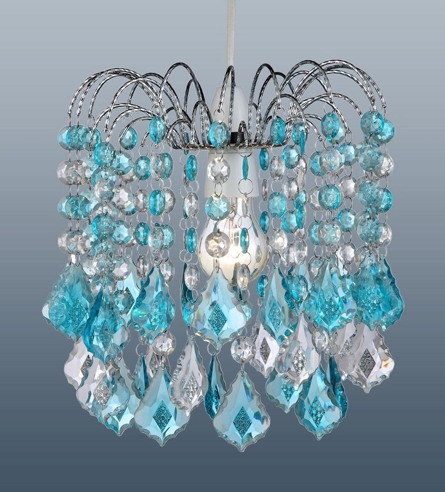 Popular Crystal Turquoise Chandelier — Best Home Decor Ideas : Turquoise Regarding Turquoise Chandelier Crystals (View 18 of 20)