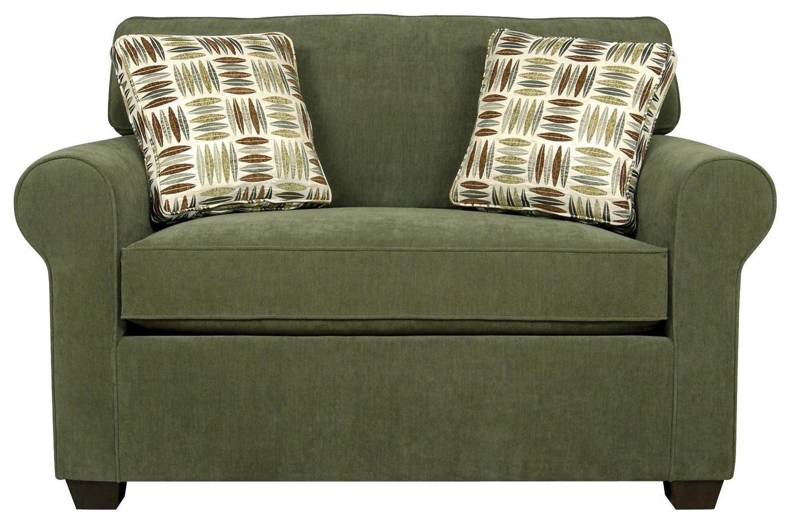 Popular England Seabury Visco Mattress Twin Size Sleeper Sofa For Living Within Twin Sleeper Sofa Chairs (View 2 of 20)