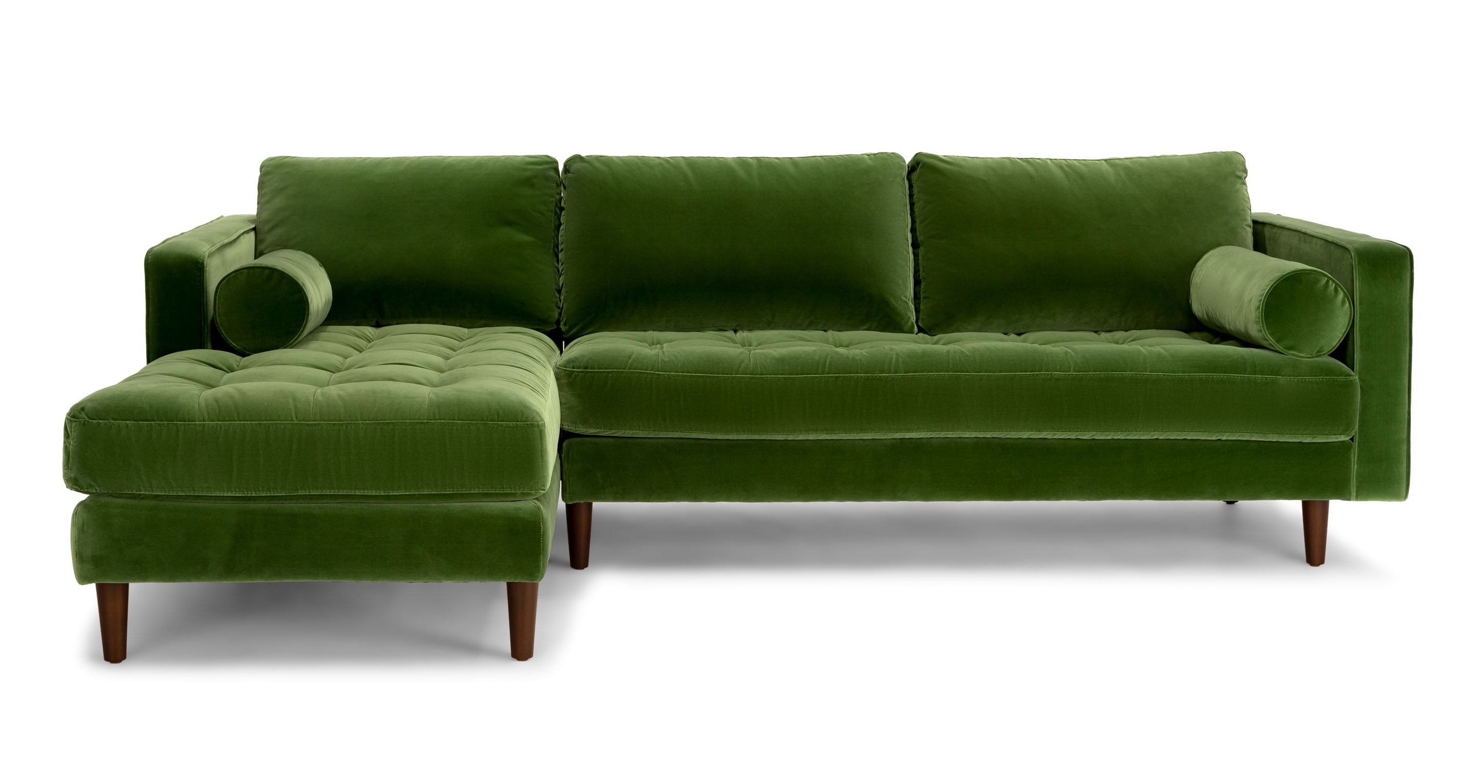 Popular Excellent Sofa On Sale On Green Sectional Sofa Easy As Inside Green Sectional Sofas (View 5 of 20)