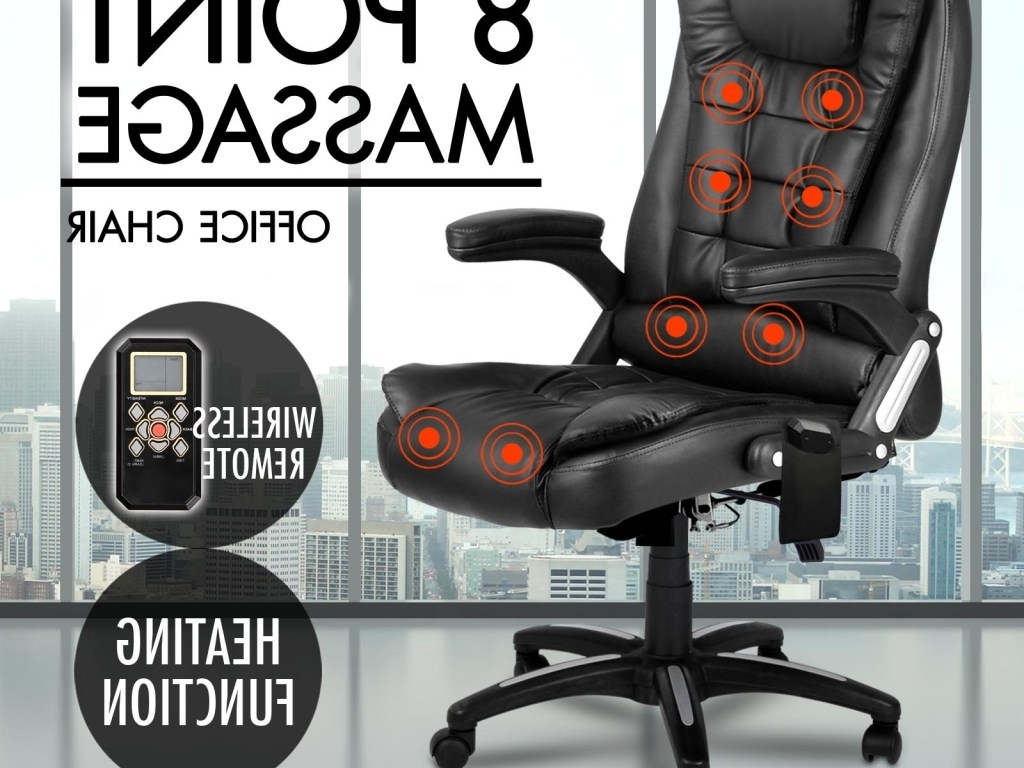 Popular Executive Office Chairs With Massage/heat For Office Chair : Massaging Computer Chair New Point Massage Racing (View 2 of 20)