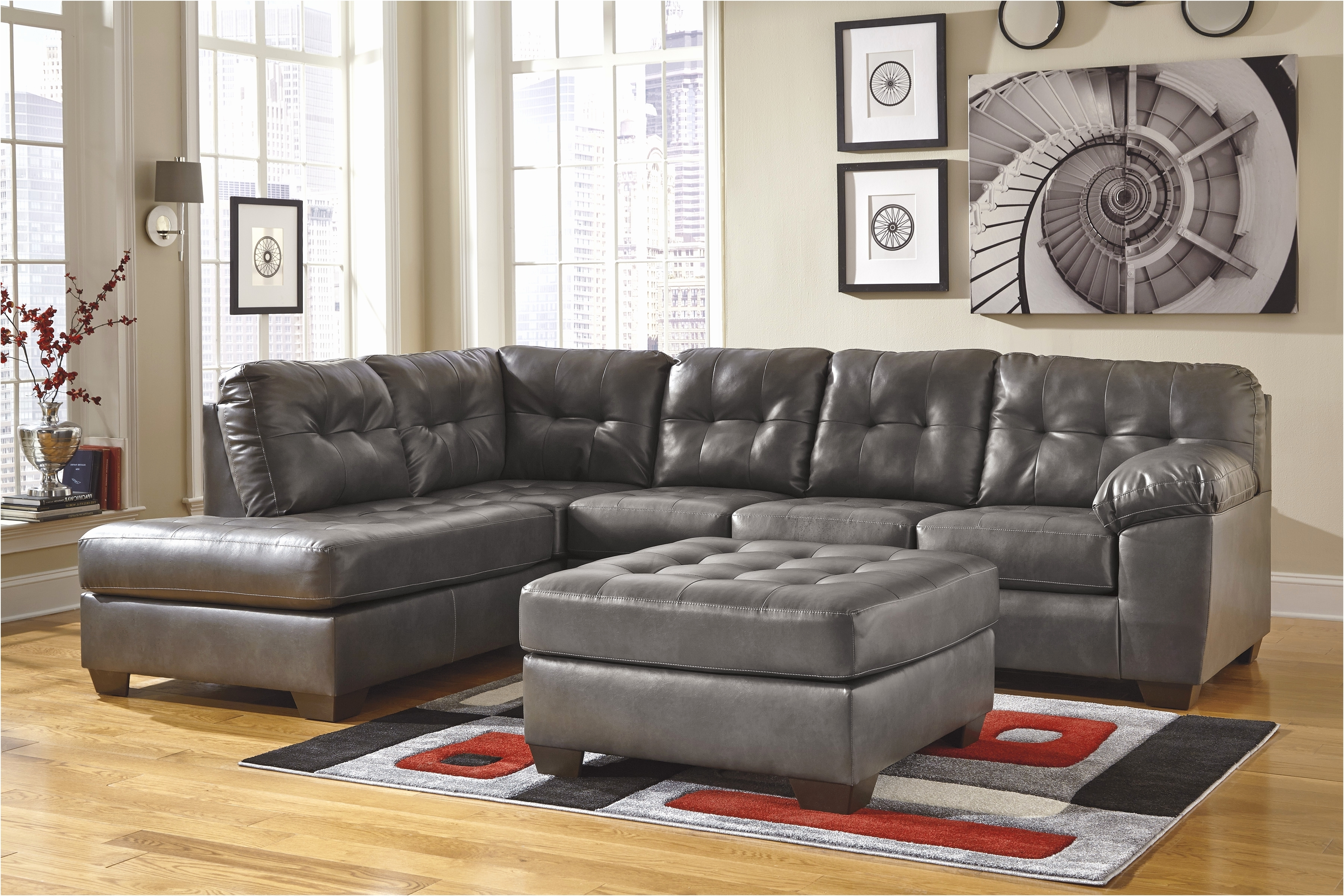 Popular Faux Leather Sectional Sofas With Uncategorized (View 15 of 20)