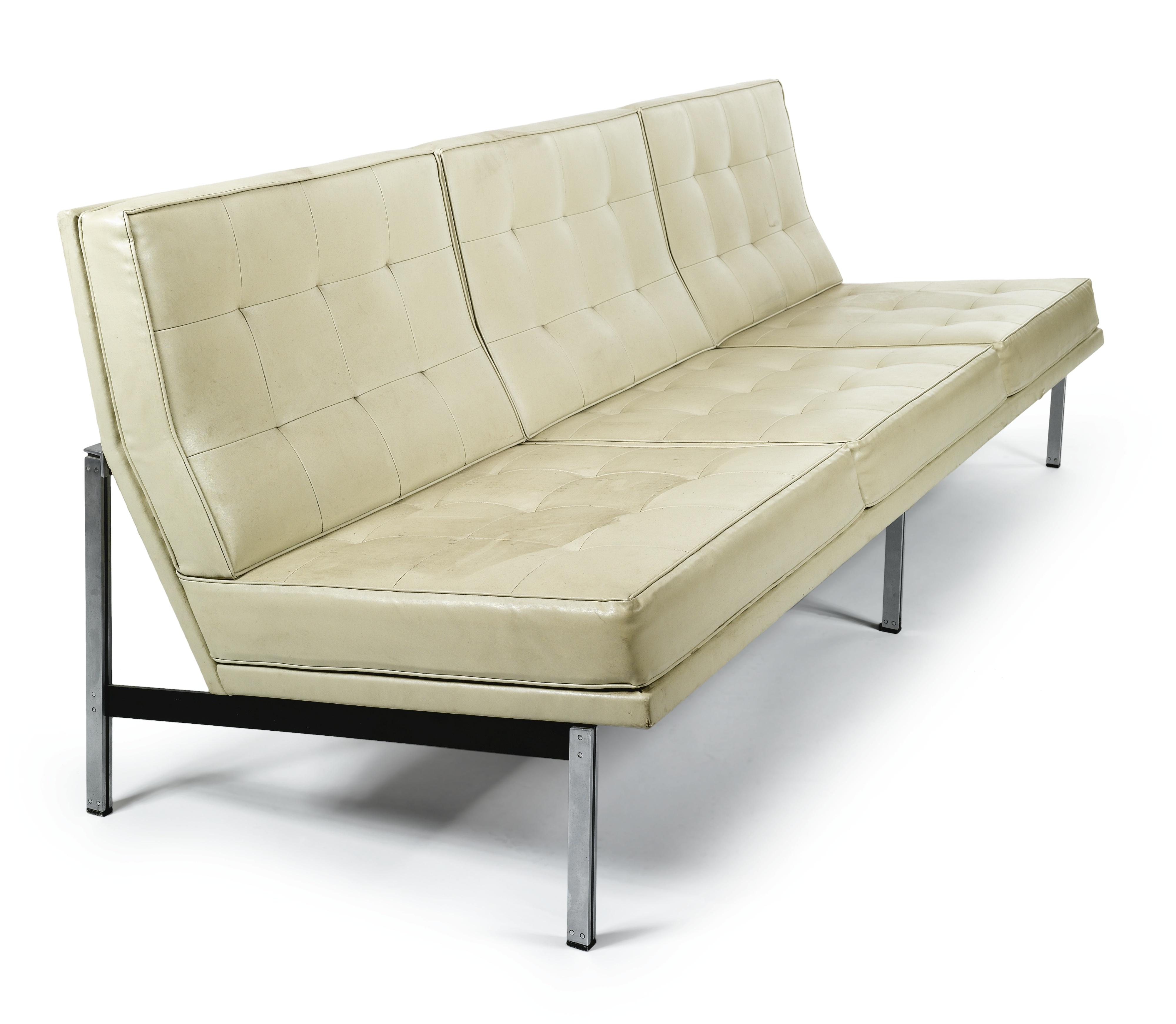 """Popular Florence Grand Sofas For Florence Knoll """"parallel """" Sofa, Model No (View 13 of 20)"""