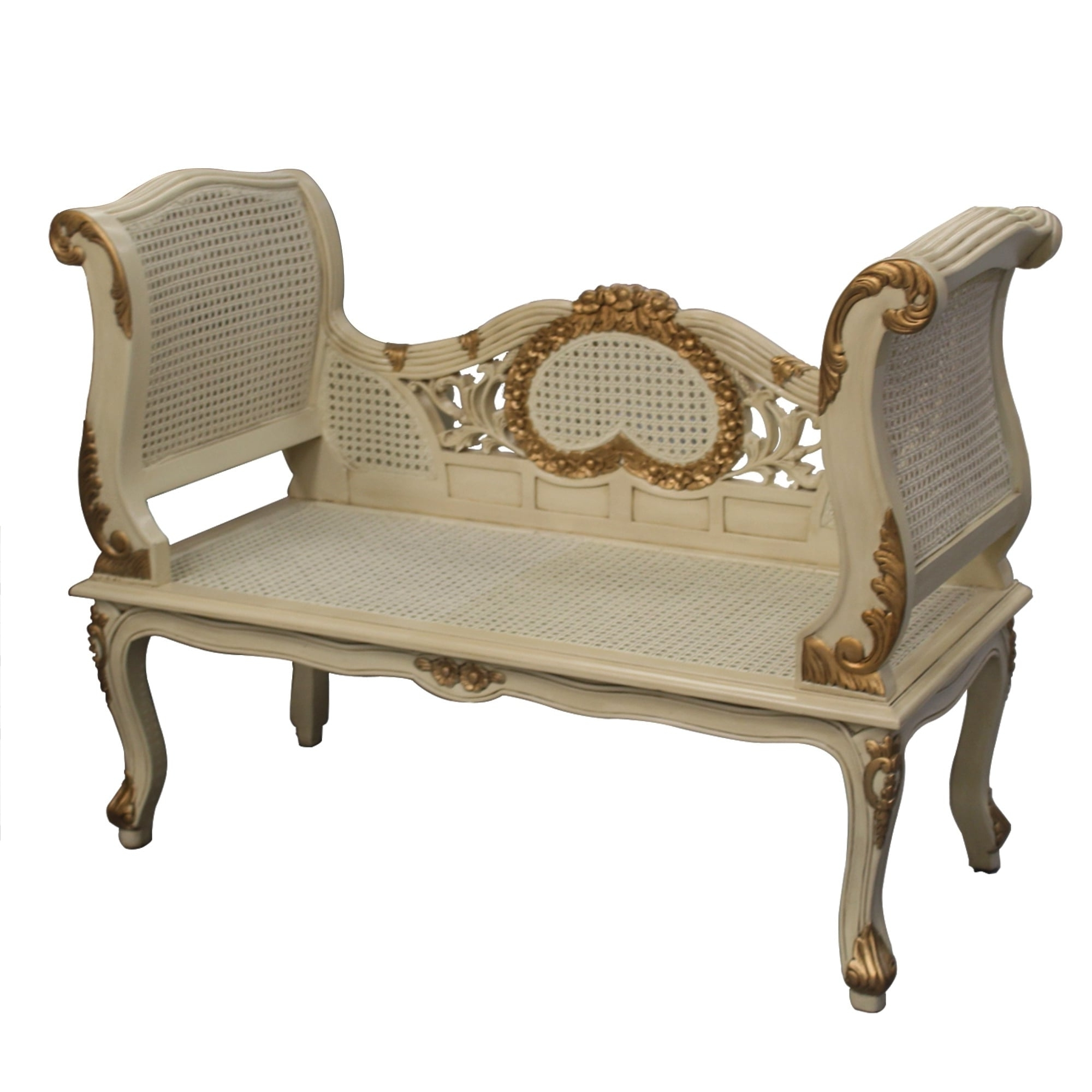 Popular French Style Sofas Regarding Gold And Cream French Style Sofa (View 2 of 20)