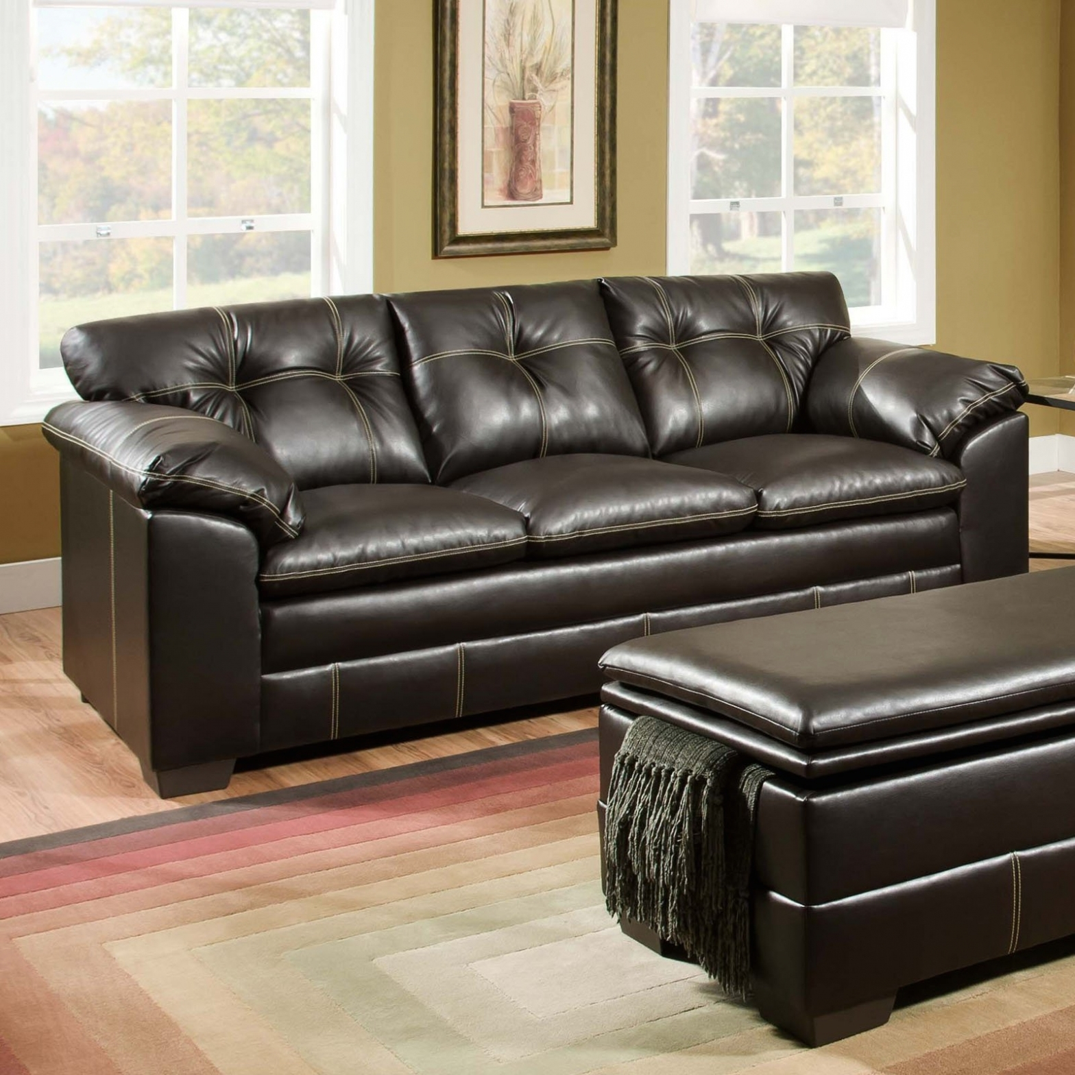 Popular Furniture: Sofas : Fabulous Leather Loveseat Recliner Sectional Throughout Sectional Sofas At Big Lots (Gallery 11 of 20)