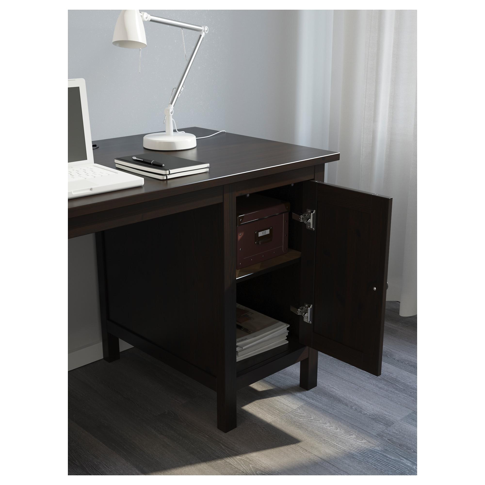Popular Ikea Mn Computer Desks Inside Hemnes Desk – White Stain – Ikea (View 17 of 20)