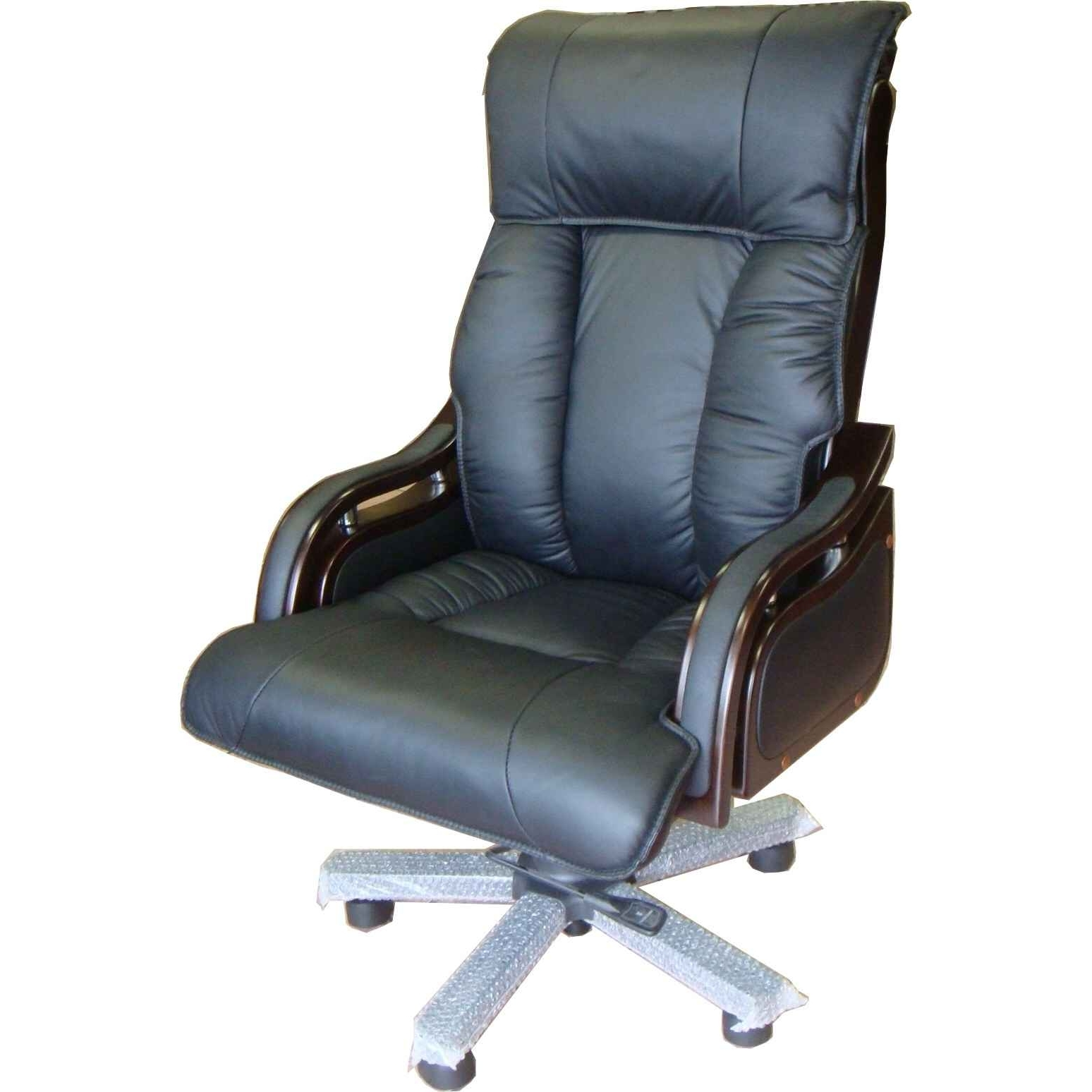 Popular Impressing Office Chairs High Back Leather Zhis Me Highback Chair In Black Executive Office Chairs With High Back (View 5 of 20)