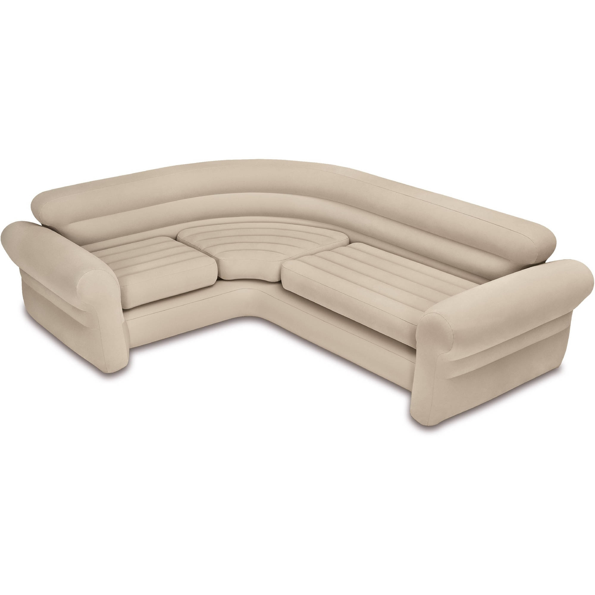 Popular Intex Inflatable Corner Sofa – Walmart Throughout Sectional Sofas For Campers (View 9 of 20)