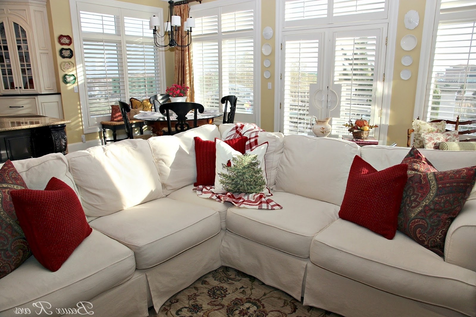 Popular Jcpenney Sectional Sofas In Beaux R'eves: Pottery Barn Knock Off Jcpenney Slipcovered (View 16 of 20)