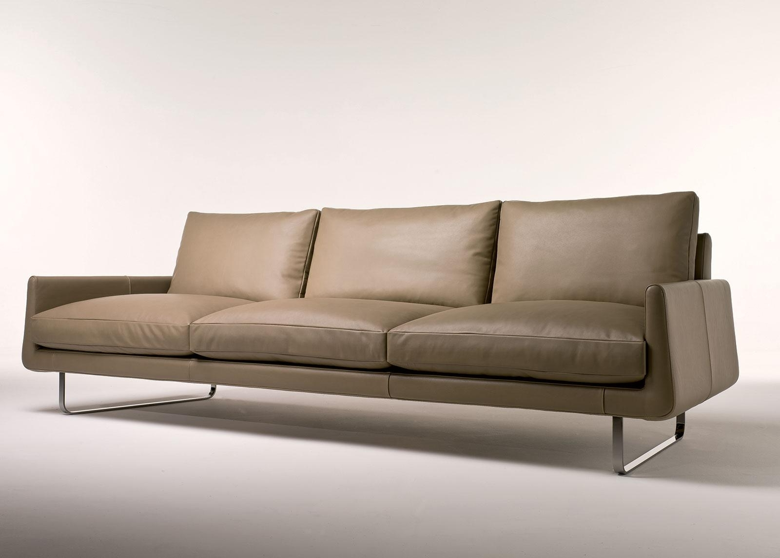 Popular Joshua 4 Seater Leather Sofa (View 19 of 20)