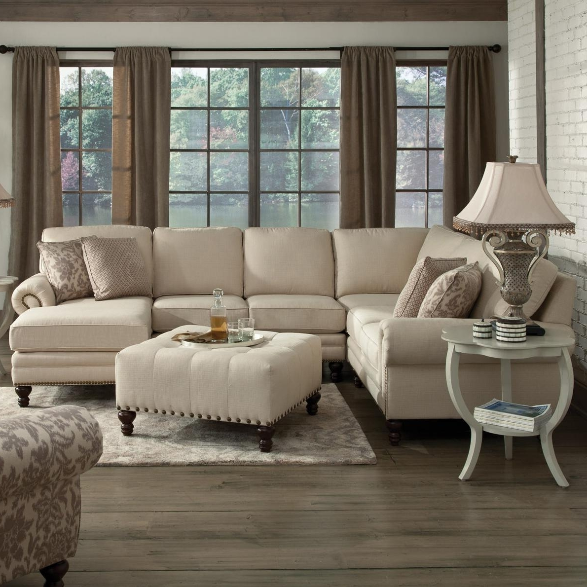 Popular Kansas City Mo Sectional Sofas For England Amix Six Seat Sectional With Right Chaise – Ahfa – Sofa (View 10 of 20)