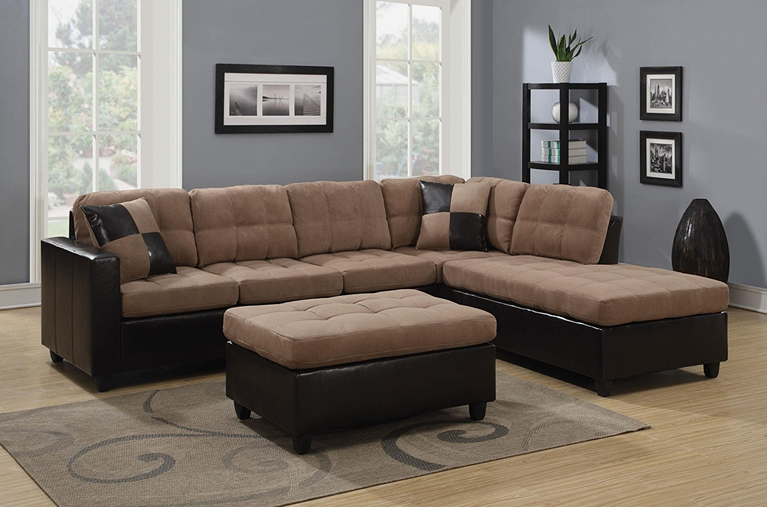 Popular Living Room: Shop Sectional Sofas Leather Sectionals Living Spaces Inside Living Spaces Sectional Sofas (View 9 of 20)