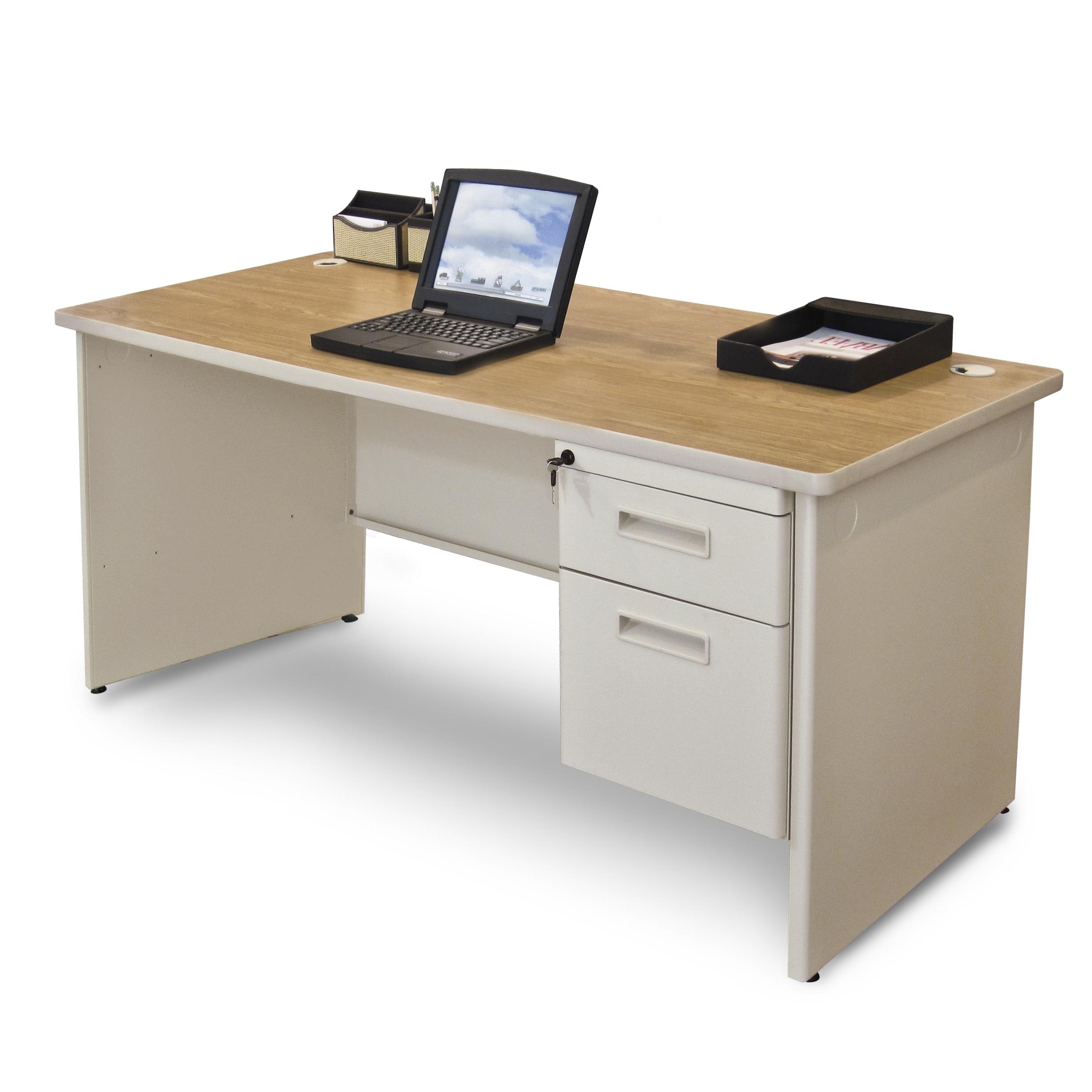 Popular Marvel Pdr6030sp – Pronto Marvel 60 In Single Pedestal Computer Desk For Quill Computer Desks (View 3 of 20)