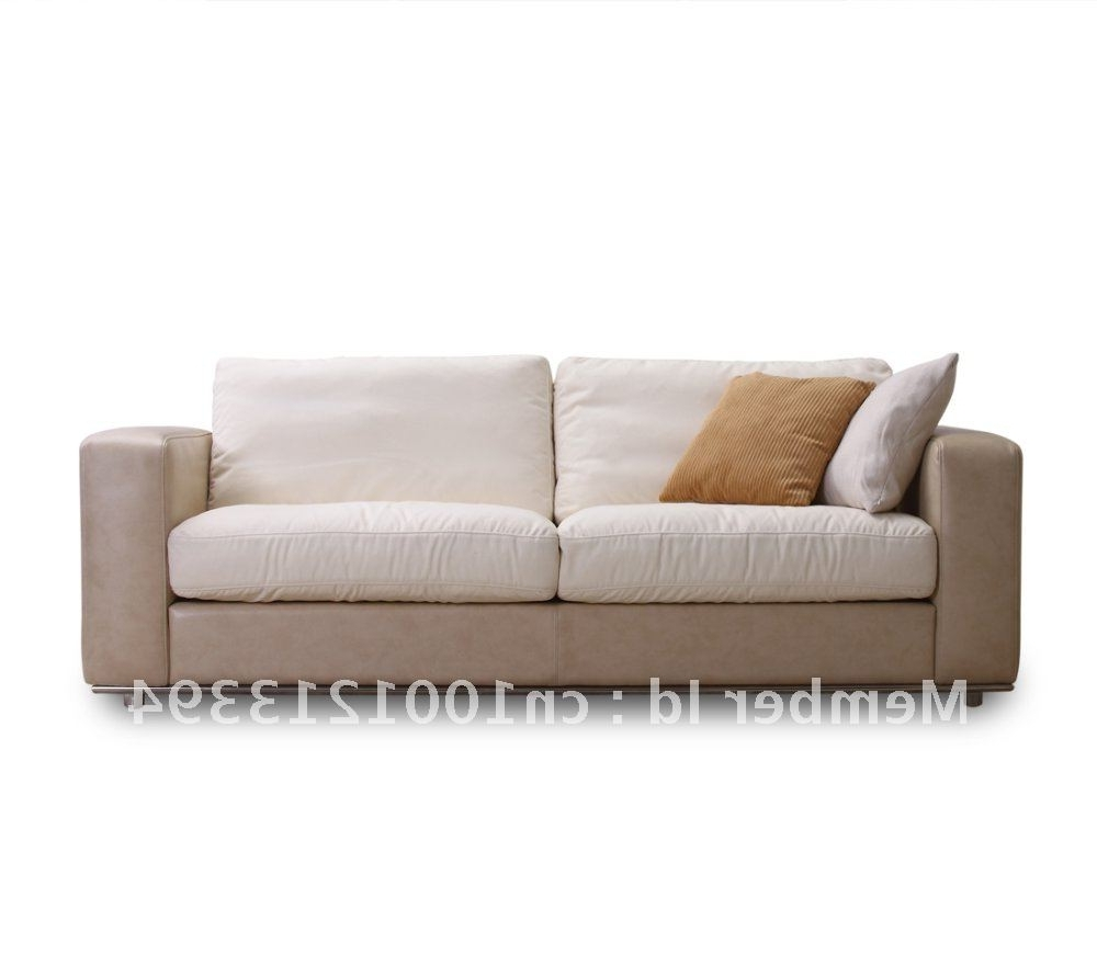 Popular Modern 3 Seater Sofas With Modern Furniture / Living Room Fabric/ Bond Leather Sofa/ 3 Seater (View 3 of 20)