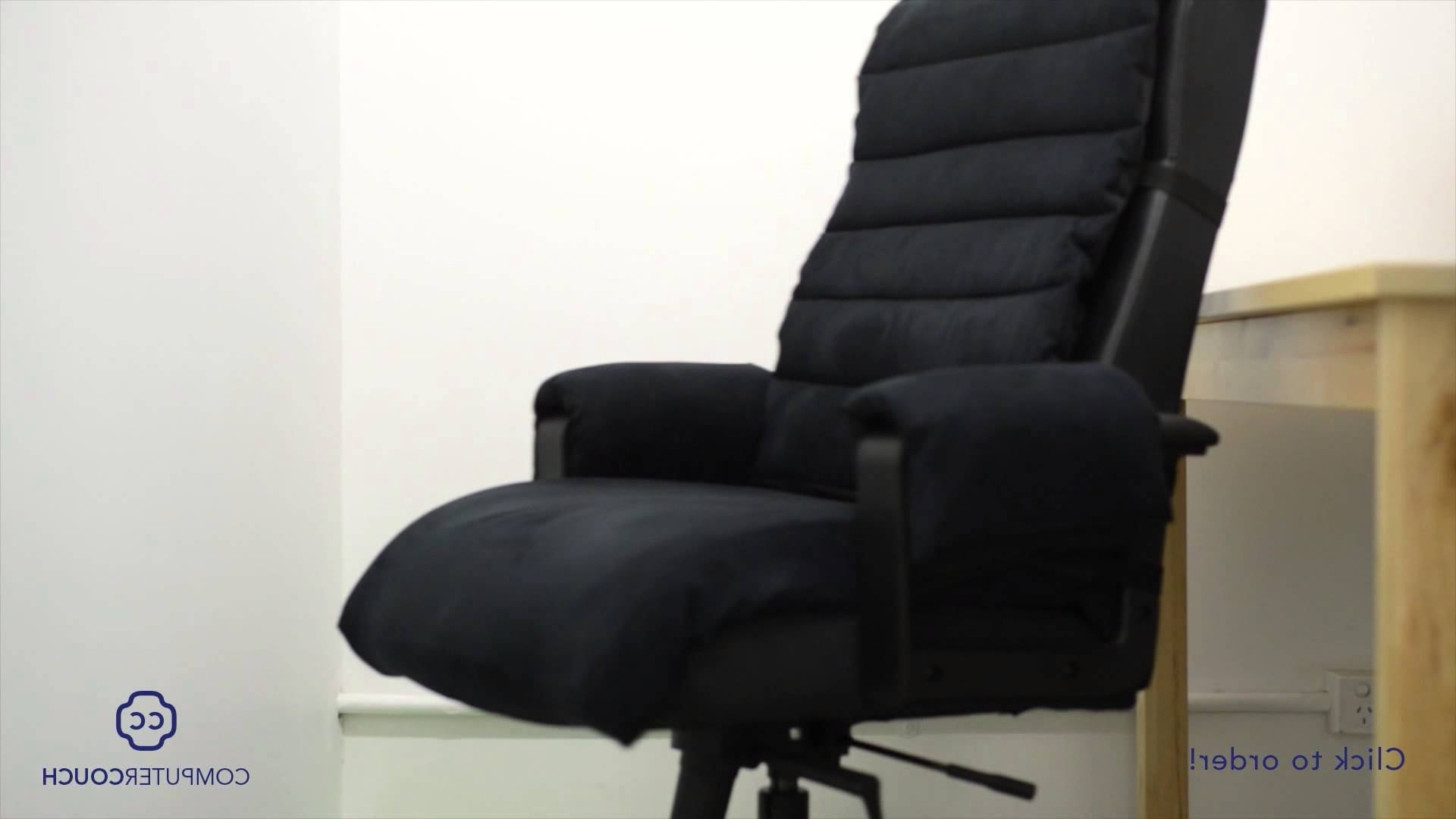 Popular Office Sofas And Chairs With Computer Couch: Turn Your Computer Chair Into A Comfortable Couch (View 18 of 20)