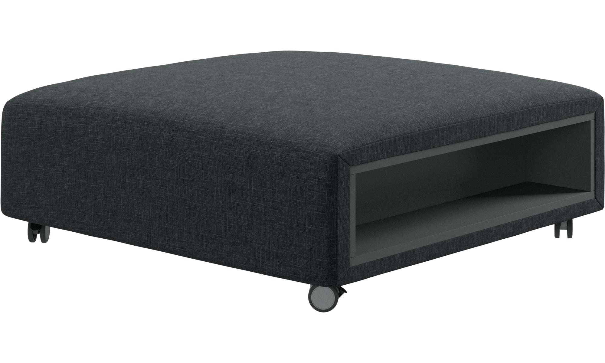 Popular Ottoman With Wheels Ottomans Pouf On Wheels With Storage Left And For Ottomans With Wheels (View 12 of 20)
