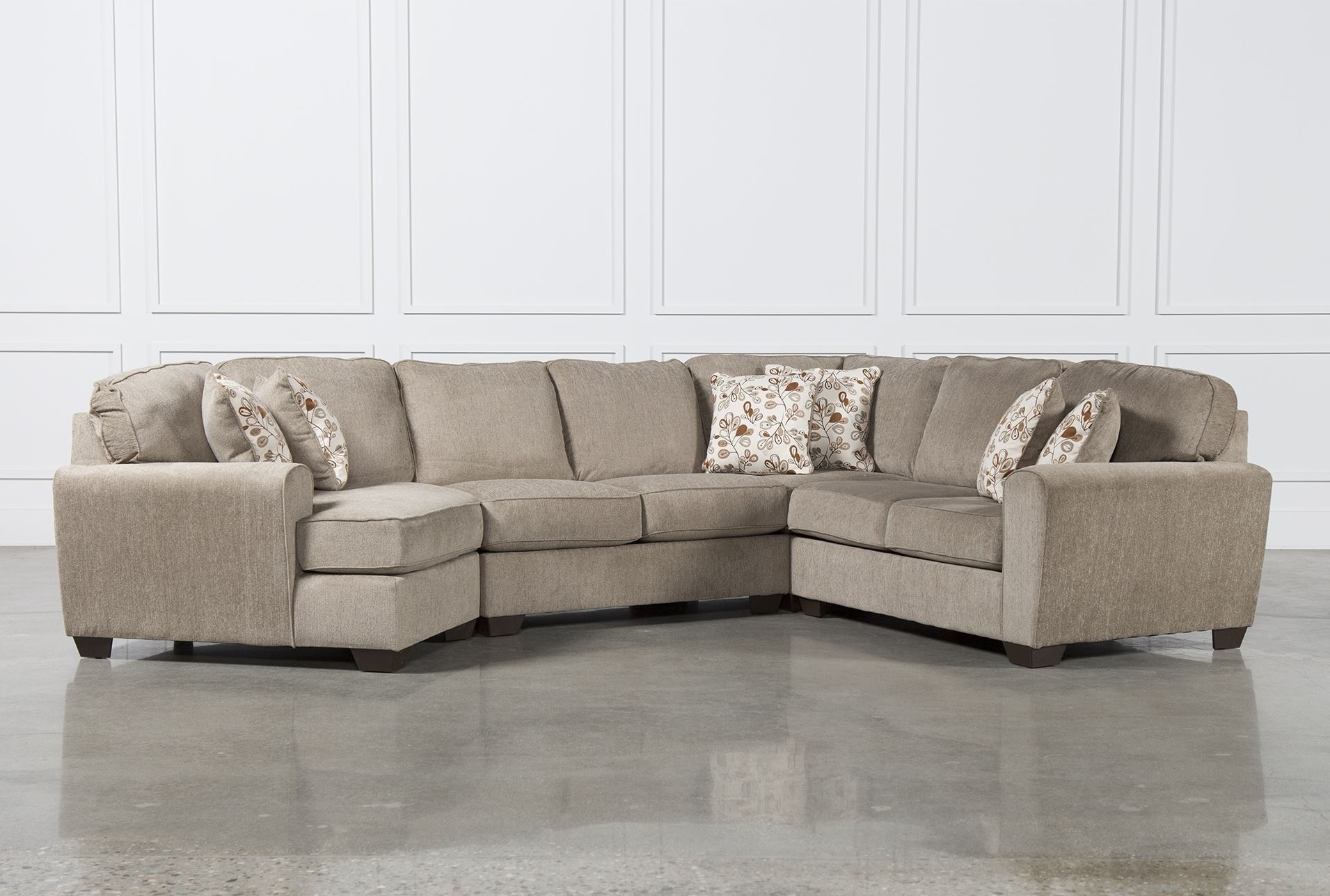Popular Patola Park 4 Piece Sectional W Raf Cuddler Living Spaces In Sofa Intended For Living Spaces Sectional Sofas (View 14 of 20)