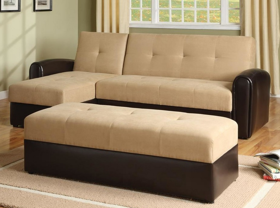 Popular Perfect Convertible Sectional Sofa Bed — Cabinets, Beds, Sofas And Inside Sectional Sofas With Storage (View 8 of 20)