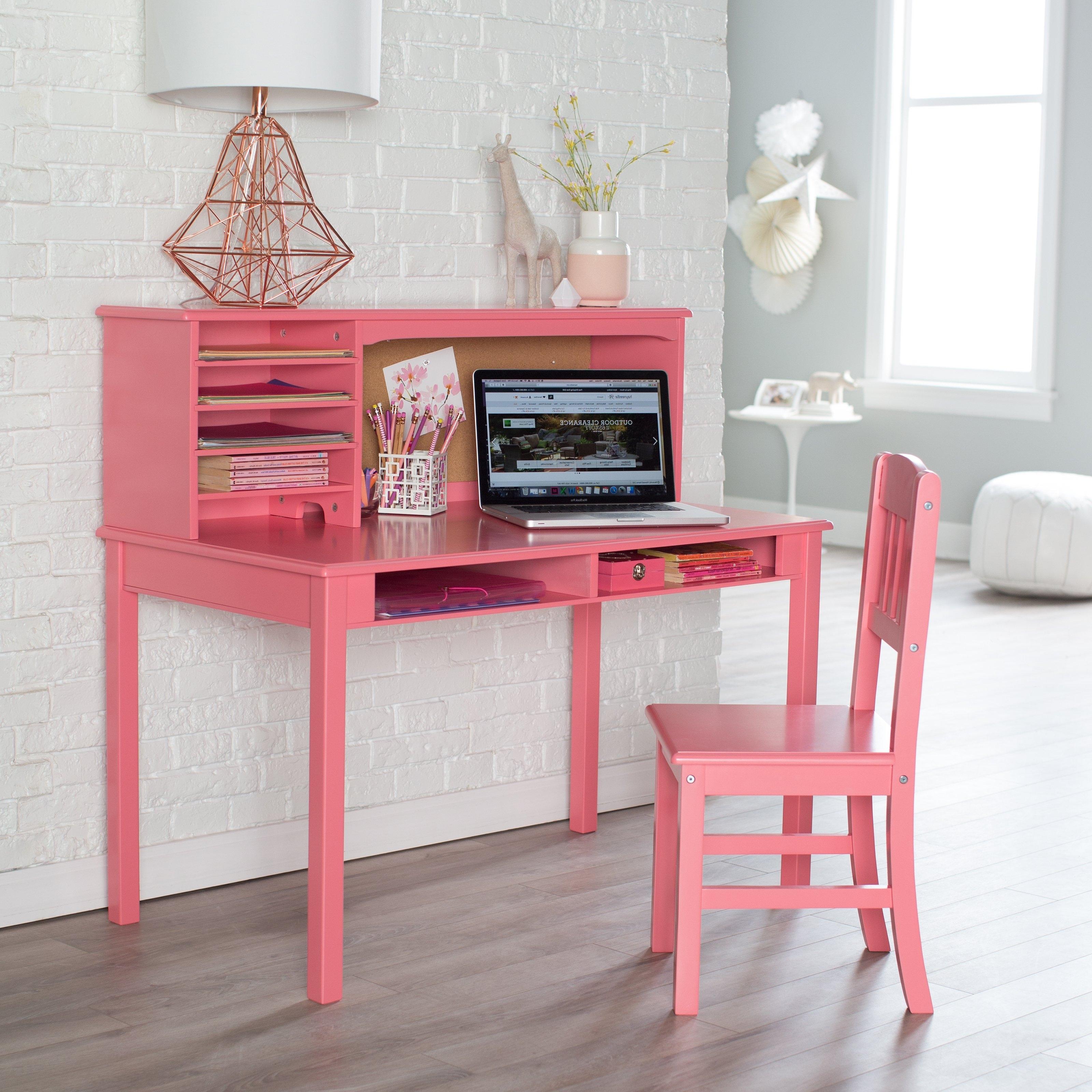 Popular Pink Desk – Mariaalcocer For Pink Computer Desks (View 5 of 20)
