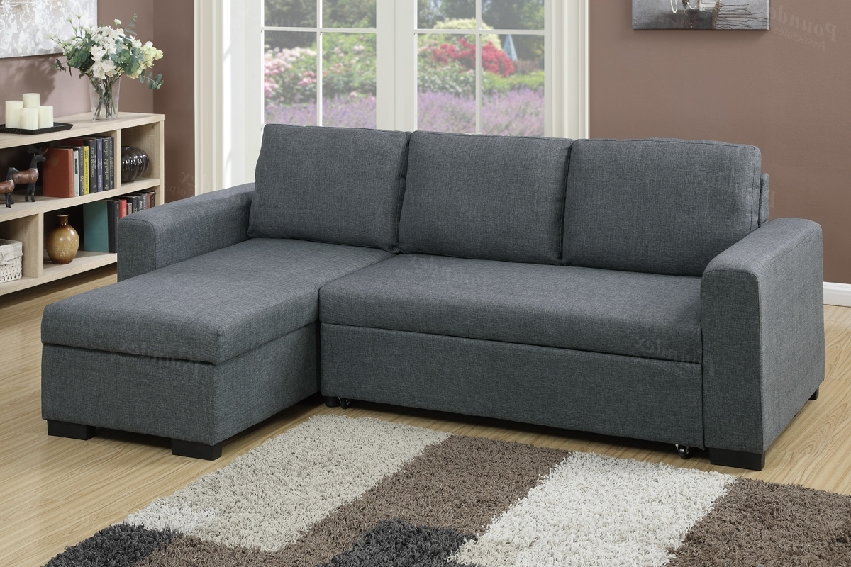 Popular Pull Out Beds Sectional Sofas Inside Sectional Sofa (F6931) (View 8 of 20)