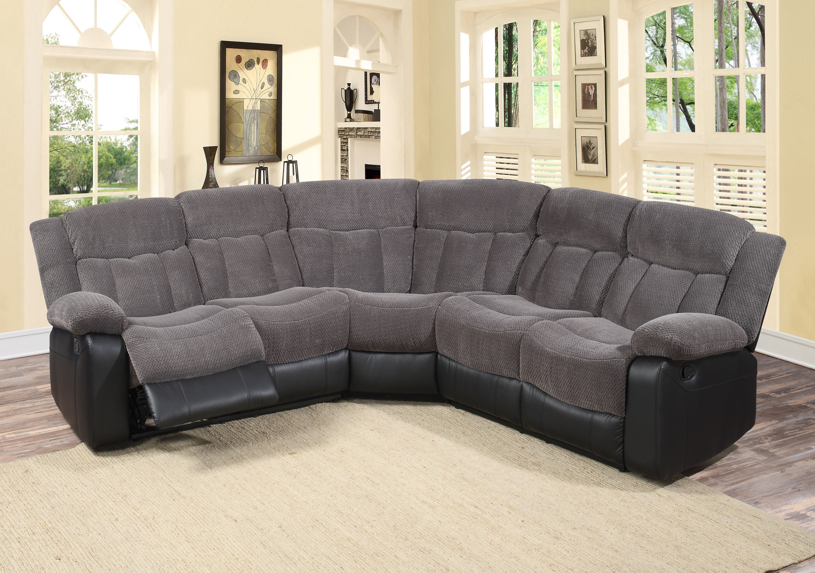 Popular Reclining Sectionals You'll Love (View 8 of 20)