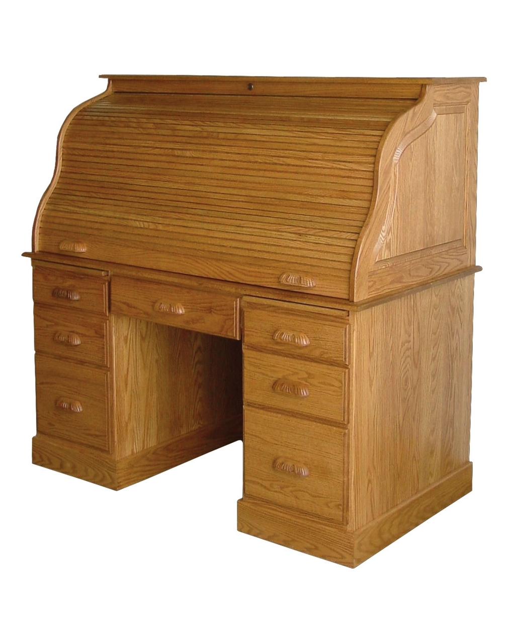 Popular Roll Top Computer Desks Regarding Computer Rolltop Desk – Amish Direct Furniture (View 7 of 20)