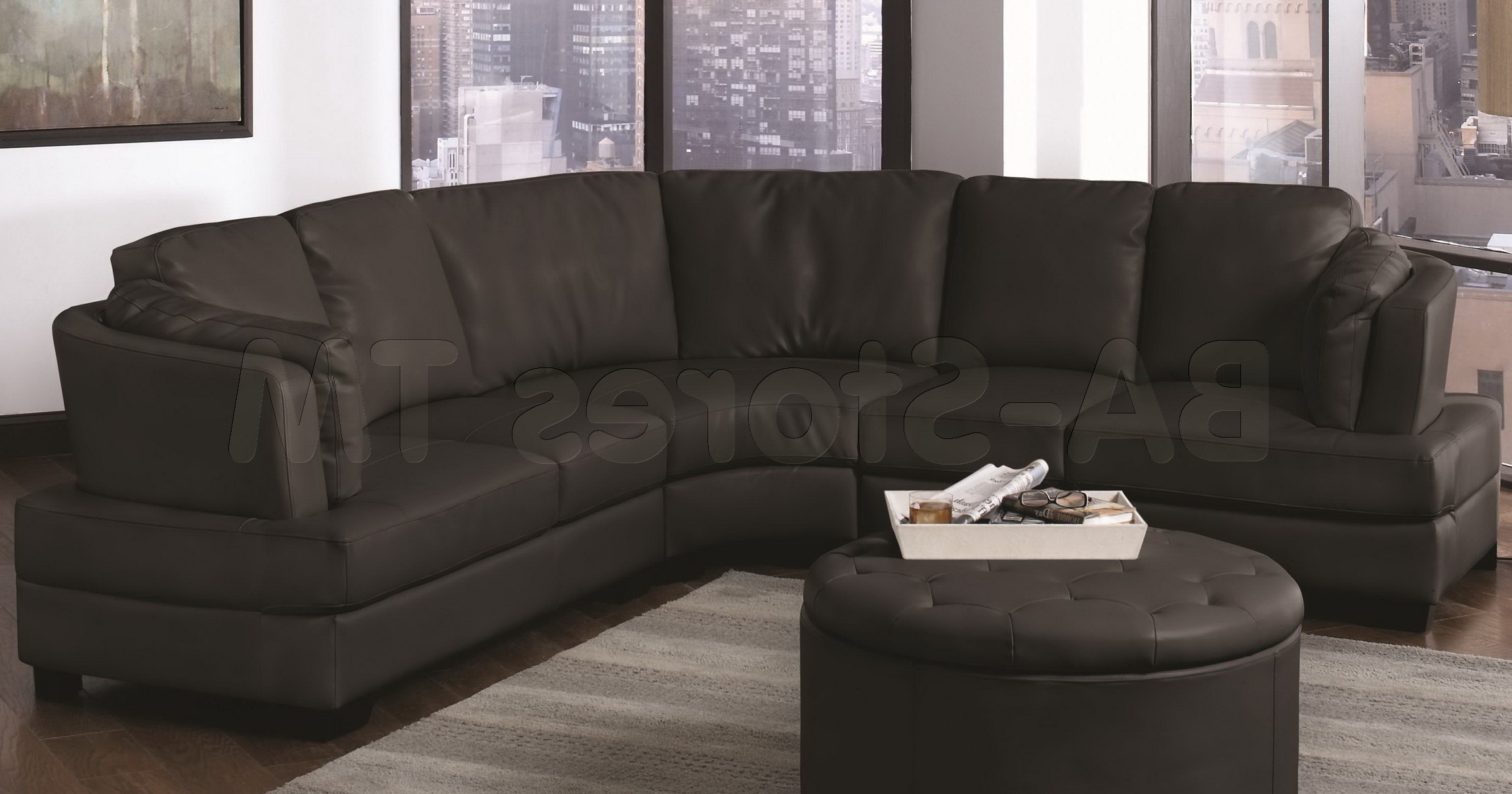 Popular Rounded Sofas With Regard To Trend Curved Sectional Sofa 99 On Contemporary Sofa Inspiration (View 19 of 20)
