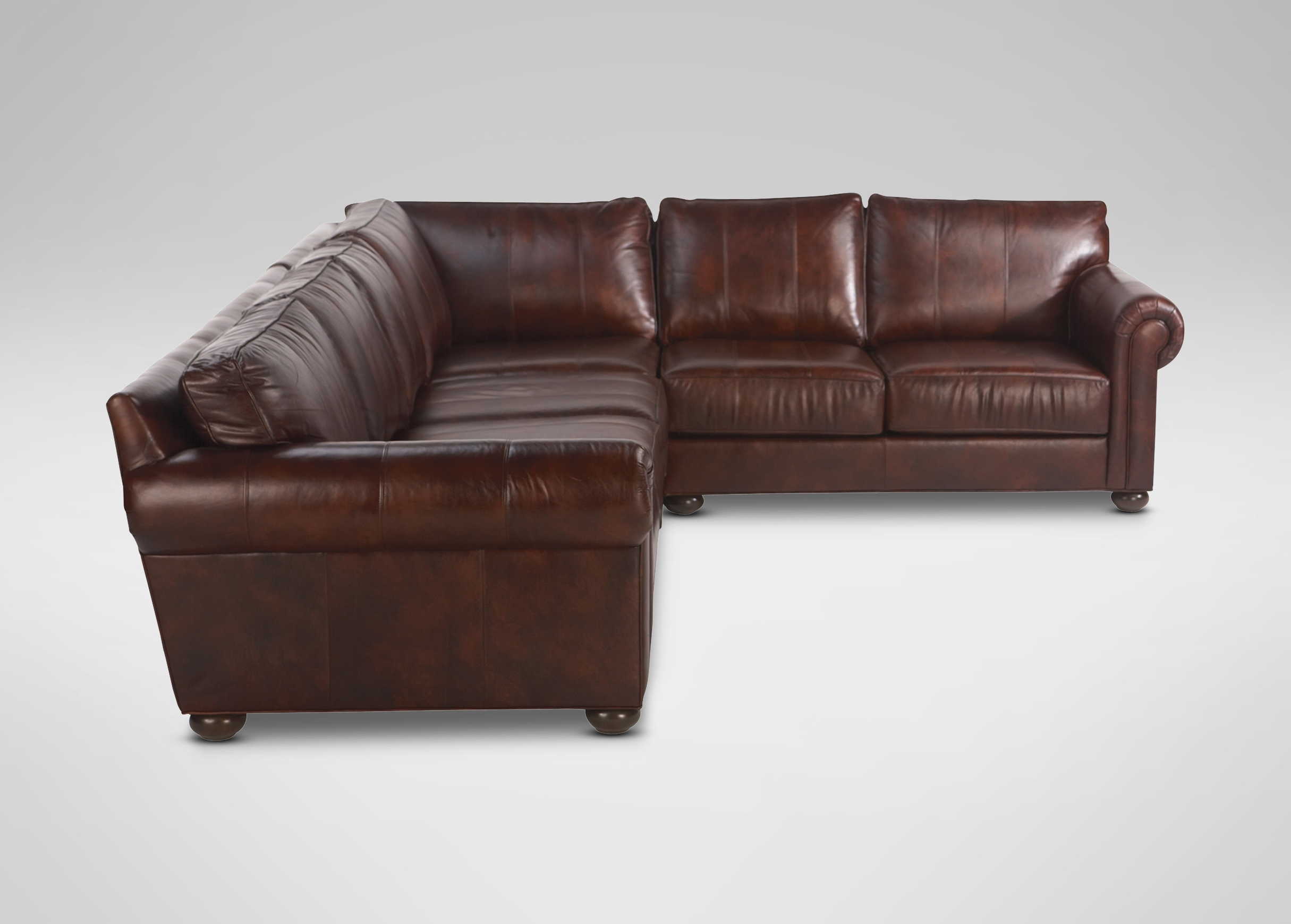 Popular Sectional Sofas At Ethan Allen For Richmond Leather Sectional (View 10 of 20)