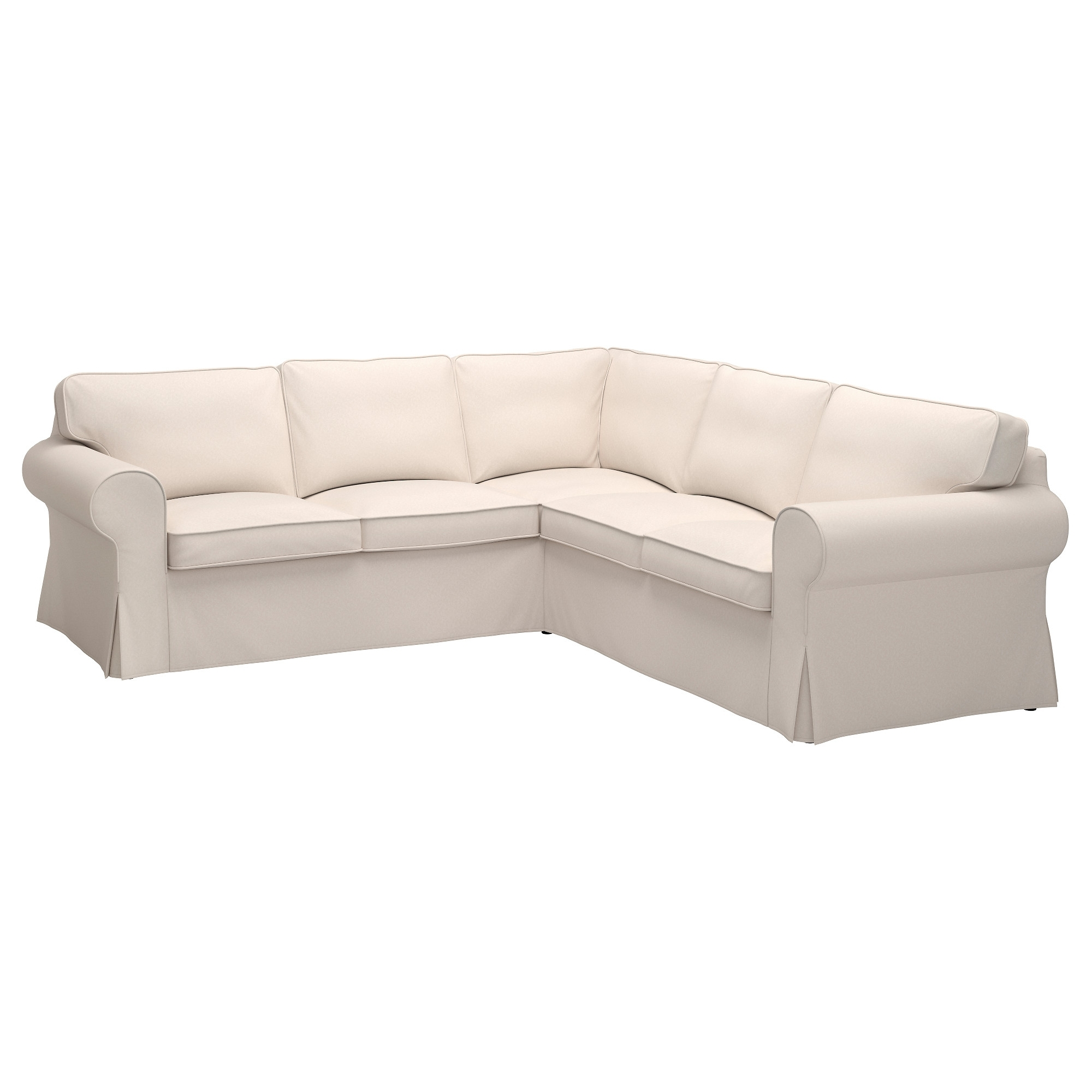 Popular Sectional Sofas At Ikea Regarding Ektorp Sectional, 4 Seat Corner – Nordvalla Dark Gray – Ikea (View 14 of 20)