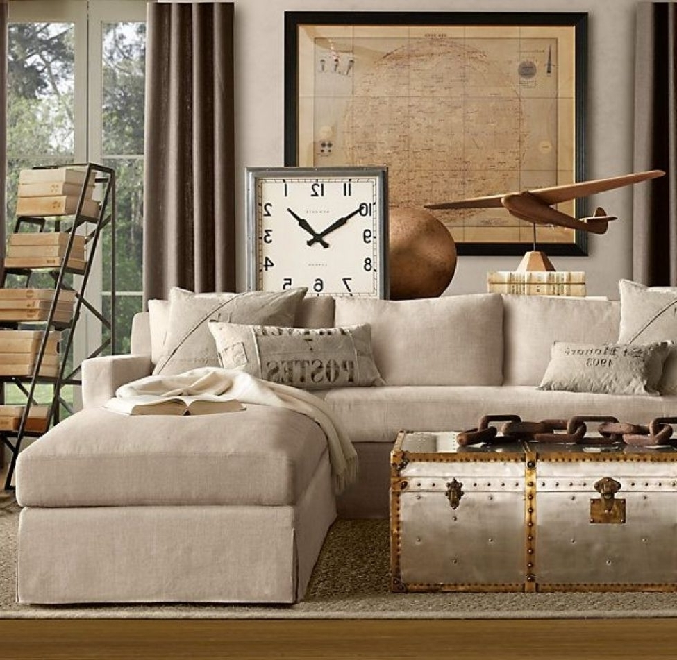 Popular Sectional Sofas: Cloud Cube Modular Leather Sectionals Restoration Throughout Restoration Hardware Sectional Sofas (View 7 of 20)