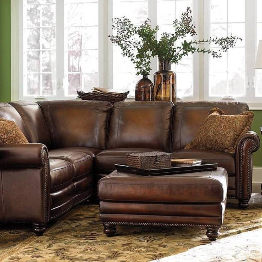 Popular Sectional Sofas With High Backs Intended For Small Leather Sofa And Teak Outdoor Plus Chaise Lounge Or Espresso (View 15 of 20)