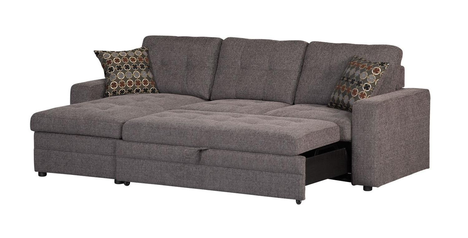 Popular Sectional Sofas With Queen Size Sleeper Within Best Sectional Sofas For Small Spaces (View 10 of 20)