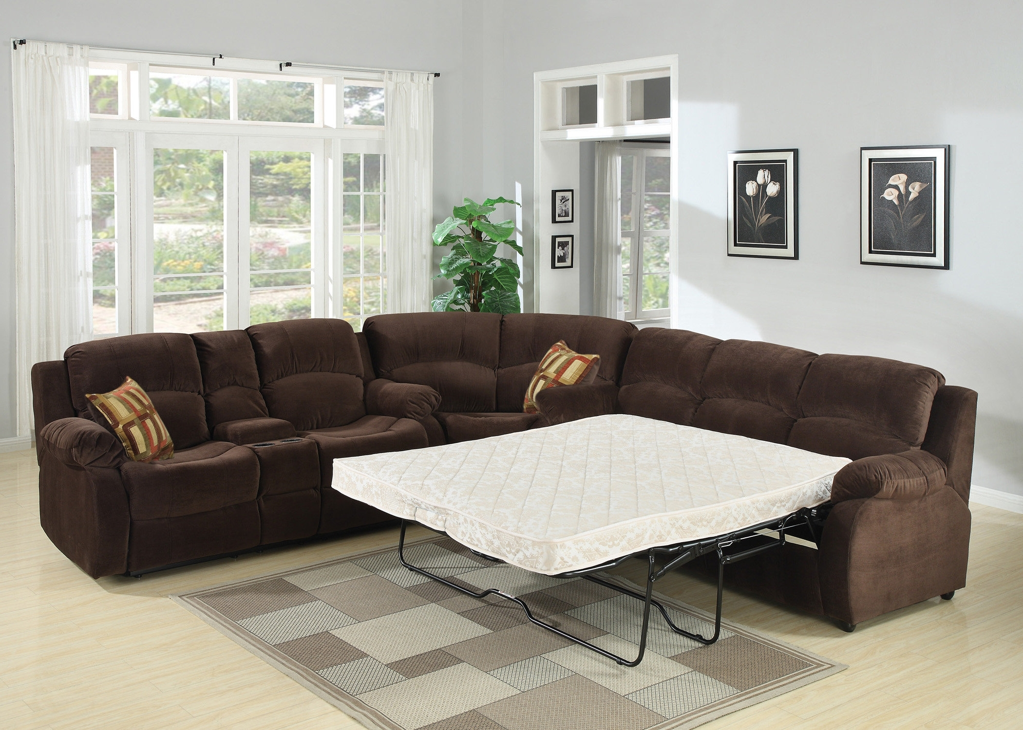 Popular Sleeper Sectional Sofas You'll Love (View 10 of 20)