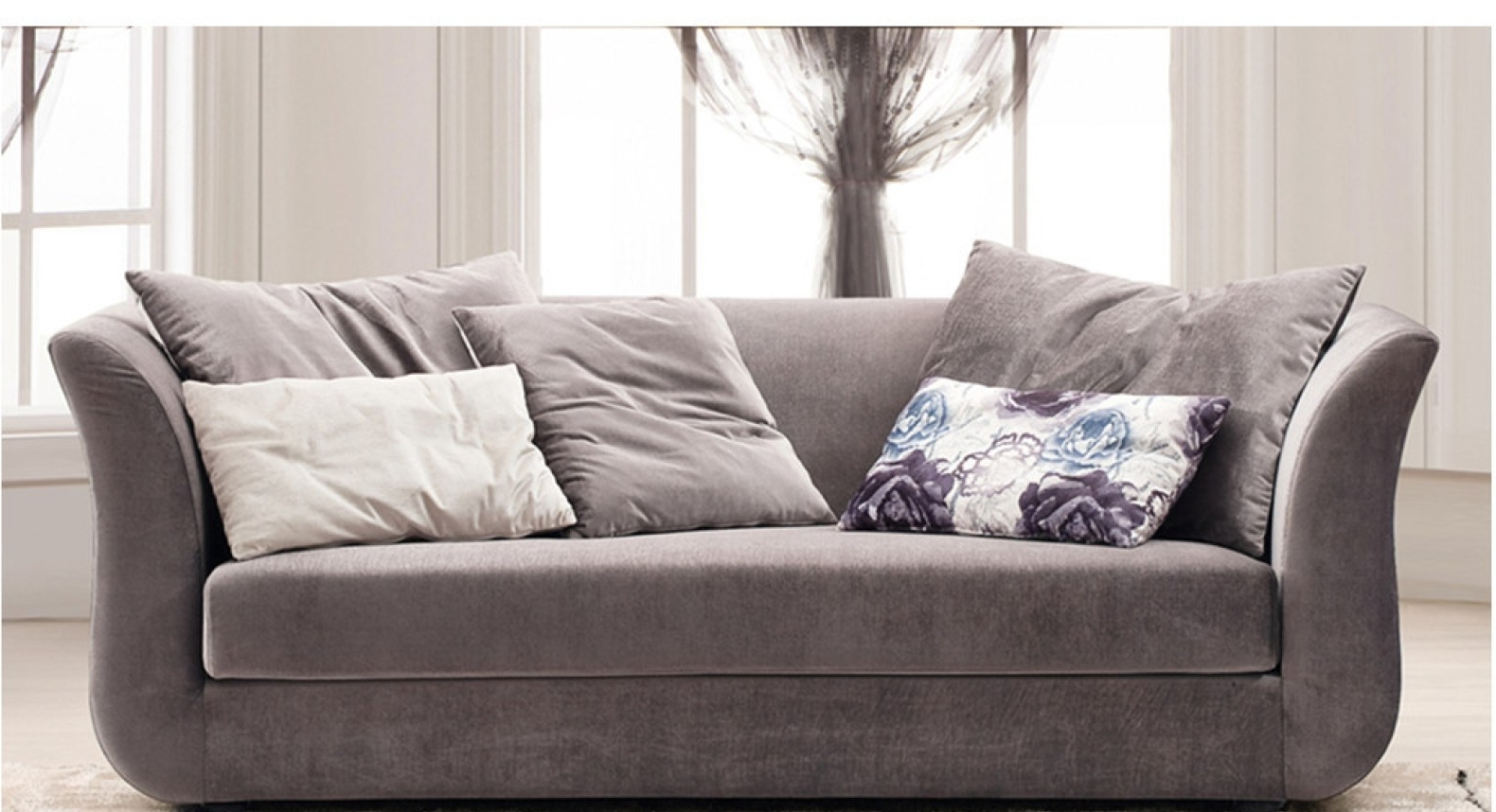 Popular Sofas With High Backs With Sofa : Delightful Sofa With High Back And Sides Stylish Sofas With (View 12 of 20)