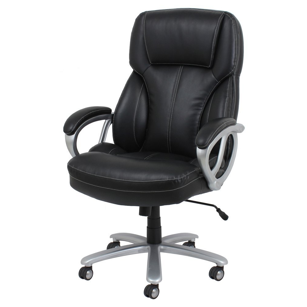 Preferred 10 Big & Tall Office Chairs For Extra Large Comfort In Large Executive Office Chairs (View 16 of 20)