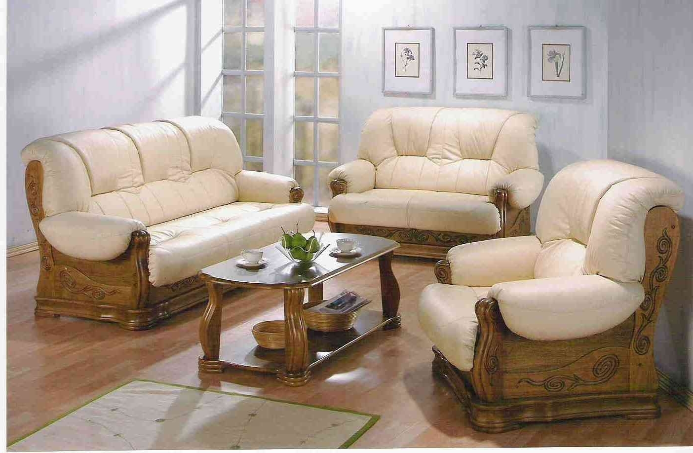 Preferred Casual Sofas And Chairs Regarding Chairs : Traditional Wooden Sofa Set Designs Couch Traditional (View 14 of 20)