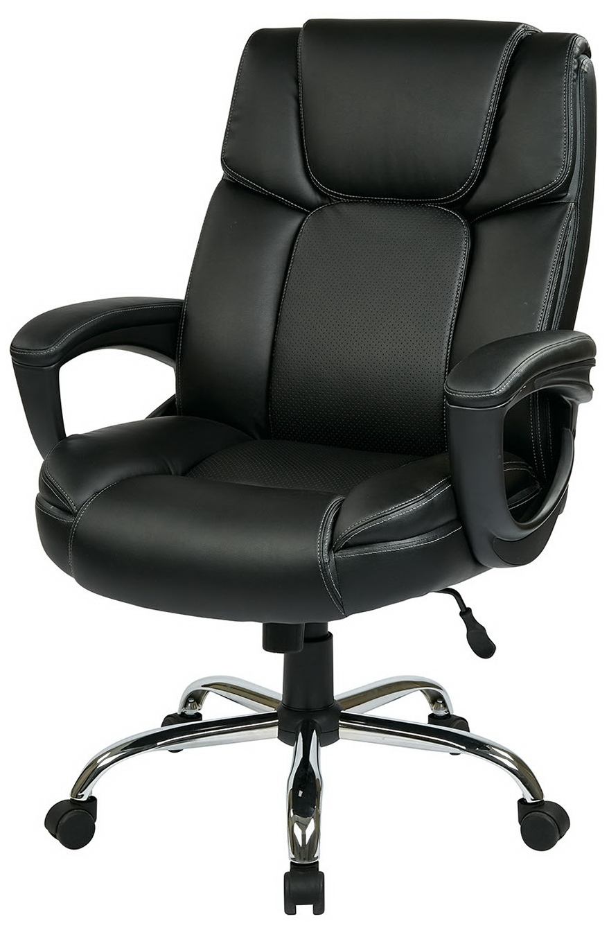 Preferred Chairs : Heavy Duty Office Chairs Executive Chair 24H Lb Capacity Within Large Executive Office Chairs (View 17 of 20)
