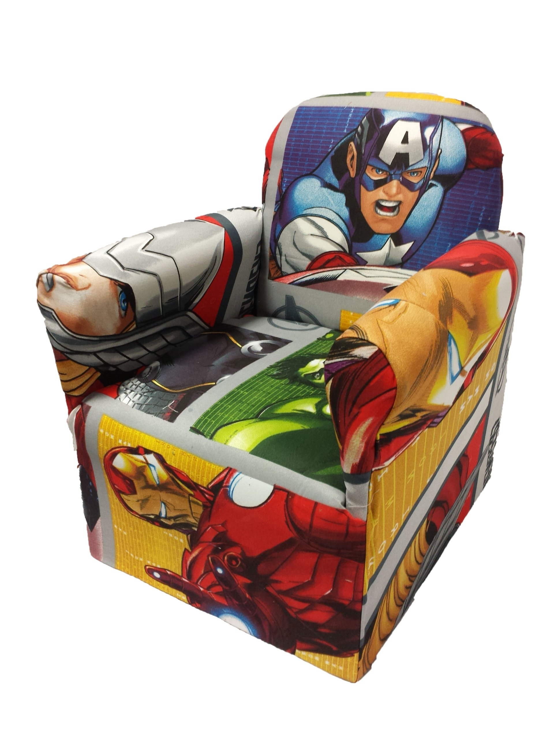 Preferred Childrens Disney Tv Characters Chair Sofa Kids Seats (Marvel Throughout Disney Sofa Chairs (View 10 of 20)