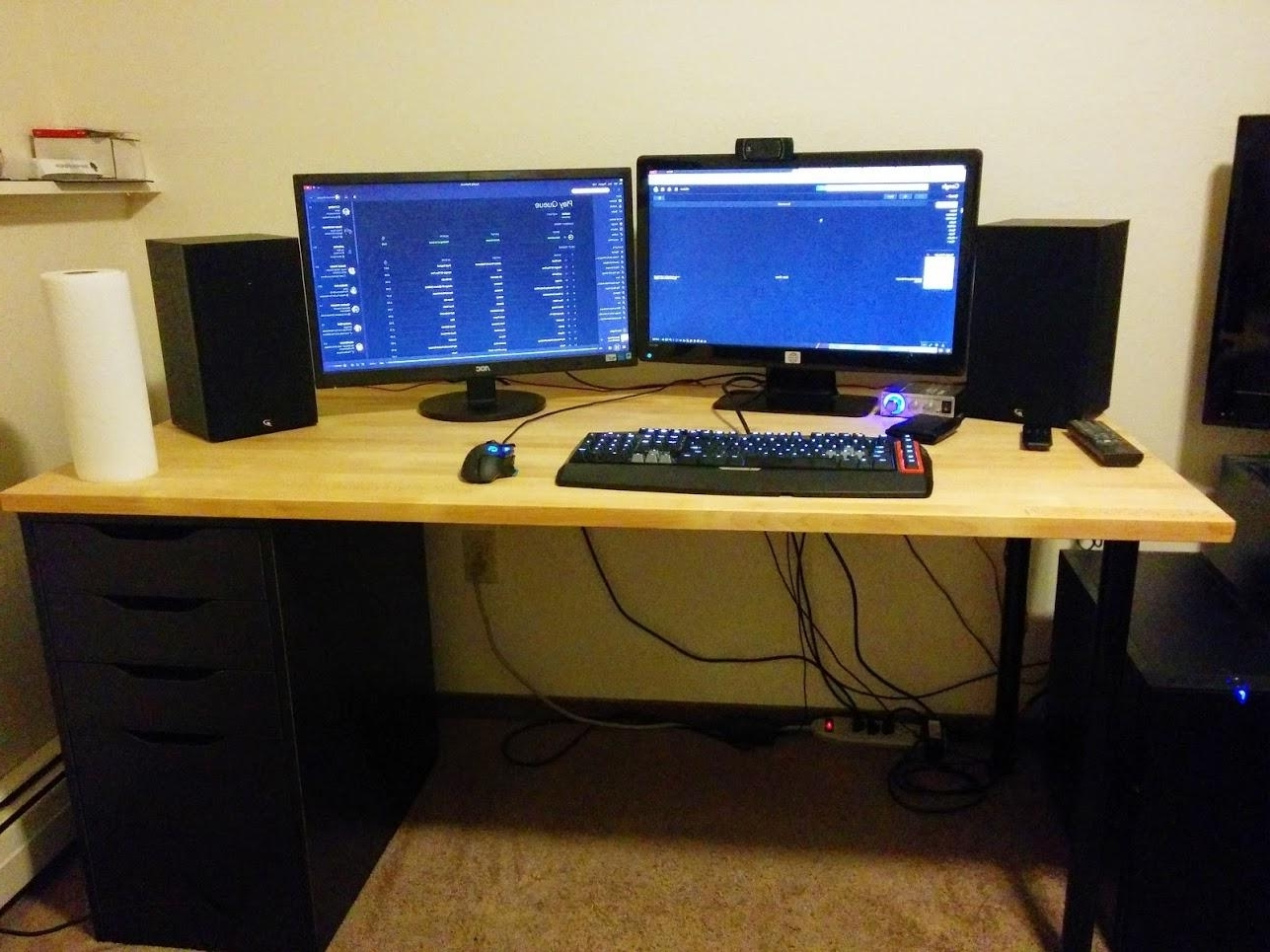 Preferred Computer Desks For Gamers Throughout What Are Some Of Your Favorite Computer Desks? : Buildapc (View 19 of 20)