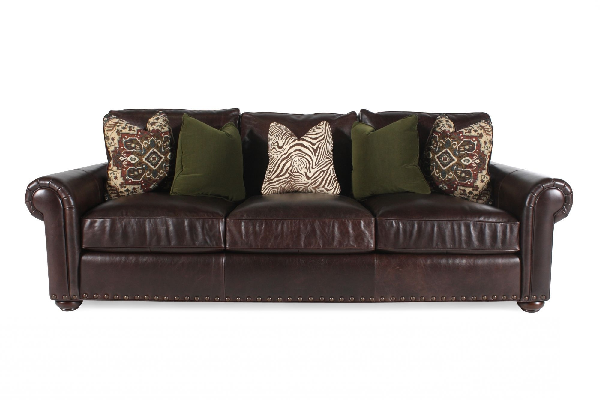 Preferred Dillards Bernhardt Seth Leather Sofa 1600 Sale (View 10 of 20)