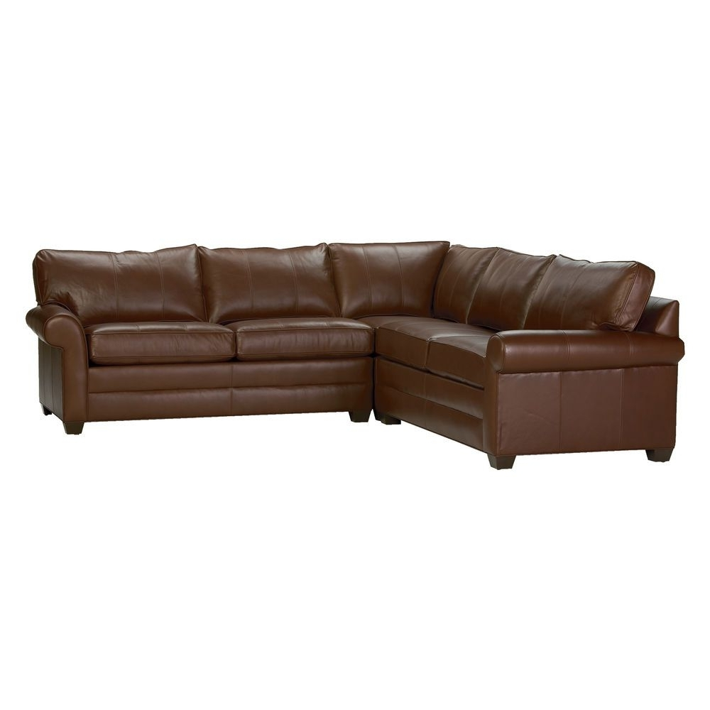Preferred Dillards Sectional Sofas Regarding Bennett Express Roll Arm Leather Sectional – Ethan Allen Us This (View 19 of 20)