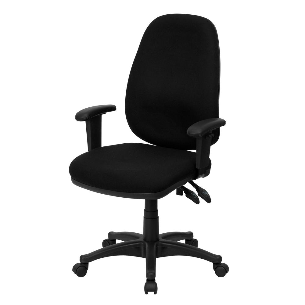 Preferred Fabric Executive Office Chairs Pertaining To Flash Furniture Mid Back Navy Fabric Executive Swivel Office Chair (View 19 of 20)