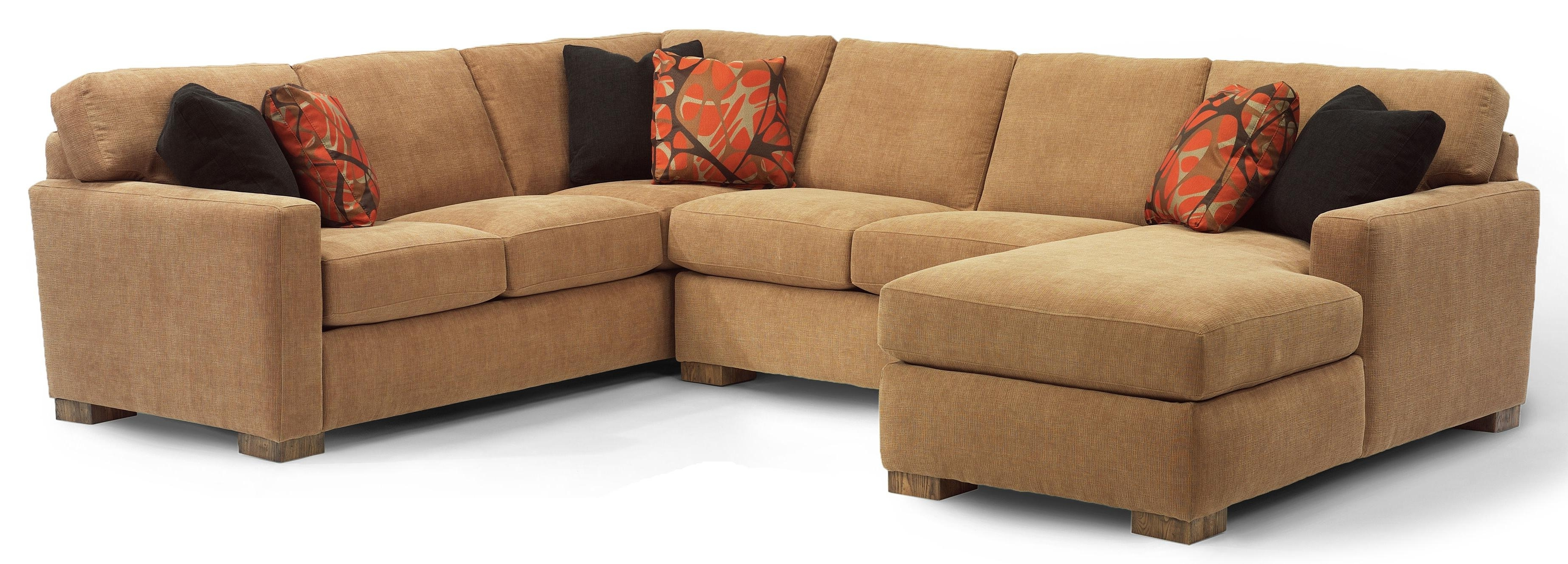 Preferred Flexsteel Bryant Contemporary 3 Pc (View 13 of 20)
