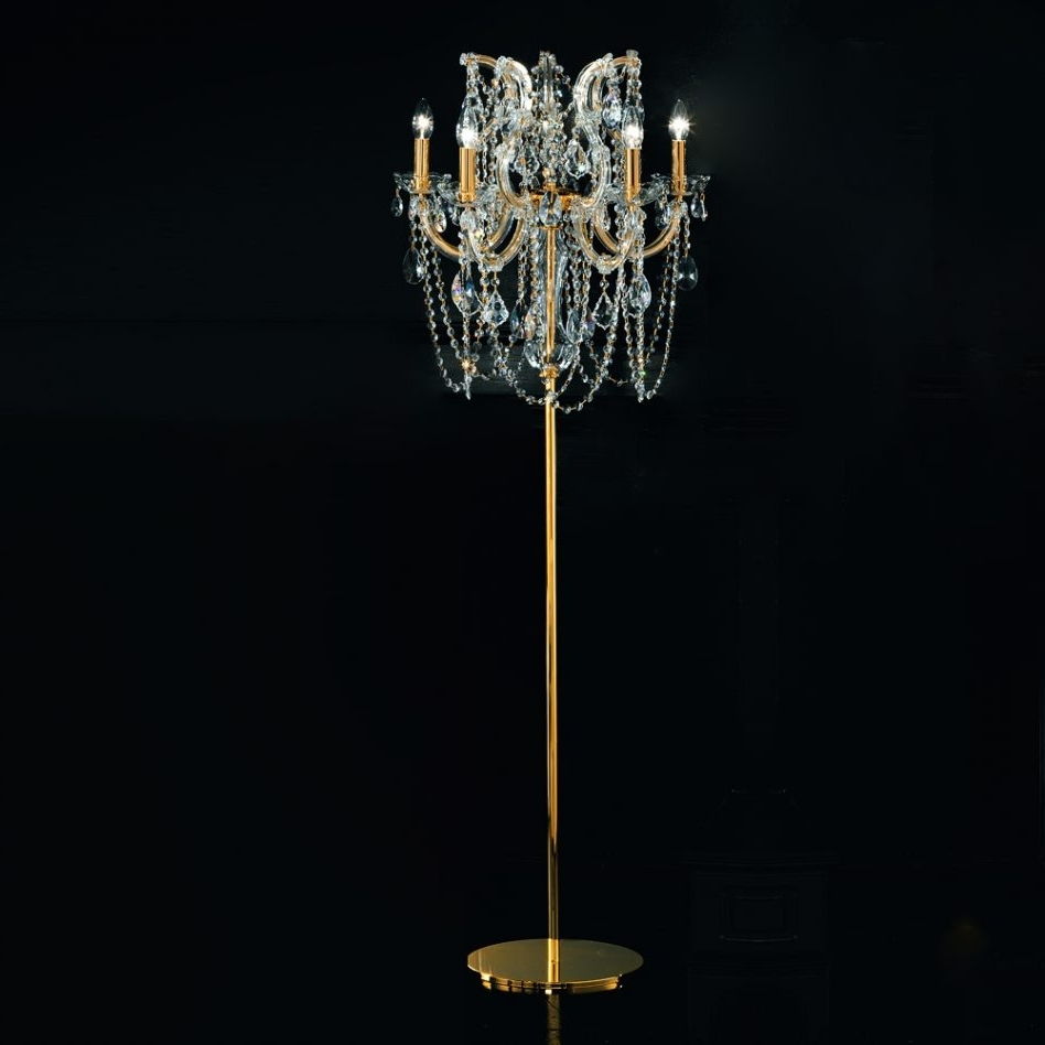 Preferred Lighting : Chandeliers Design Amazing Black Chandelier Style Table With Regard To Standing Chandeliers (View 11 of 20)