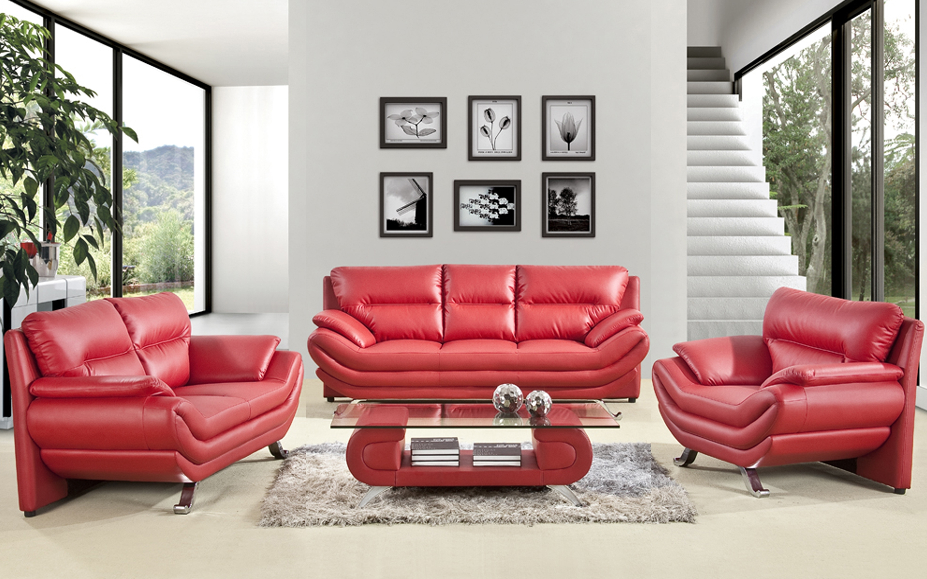 Preferred Magnificen Home Interior Decorating Living Room Design Ideas With Regarding Red Leather Couches For Living Room (View 11 of 20)