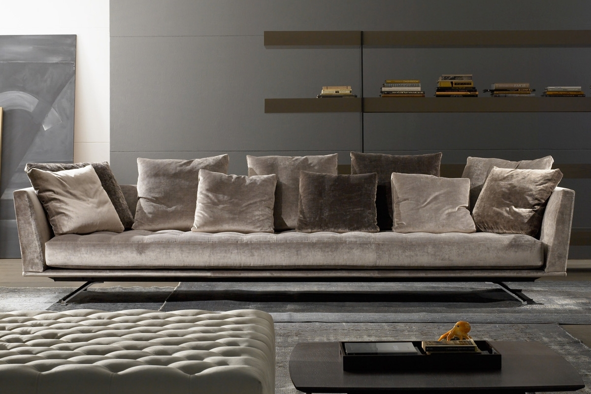 Preferred Miami Modern & Contemporary Furniture – Arravanti In Contemporary Fabric Sofas (View 15 of 20)