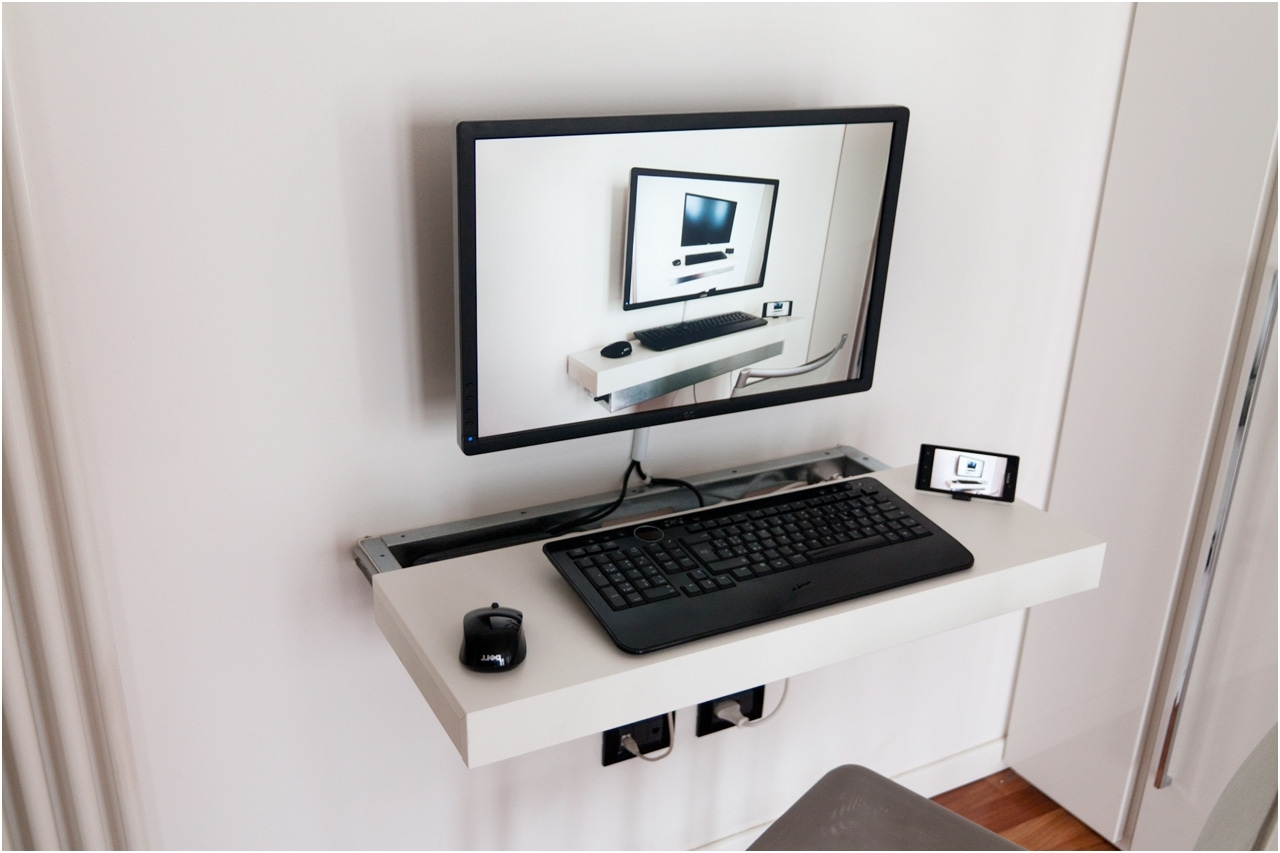 Preferred Minimalist Floating Corner Computer Desk Of 16 Cool Designs Ideas Inside Wall Computer Desks (View 15 of 20)