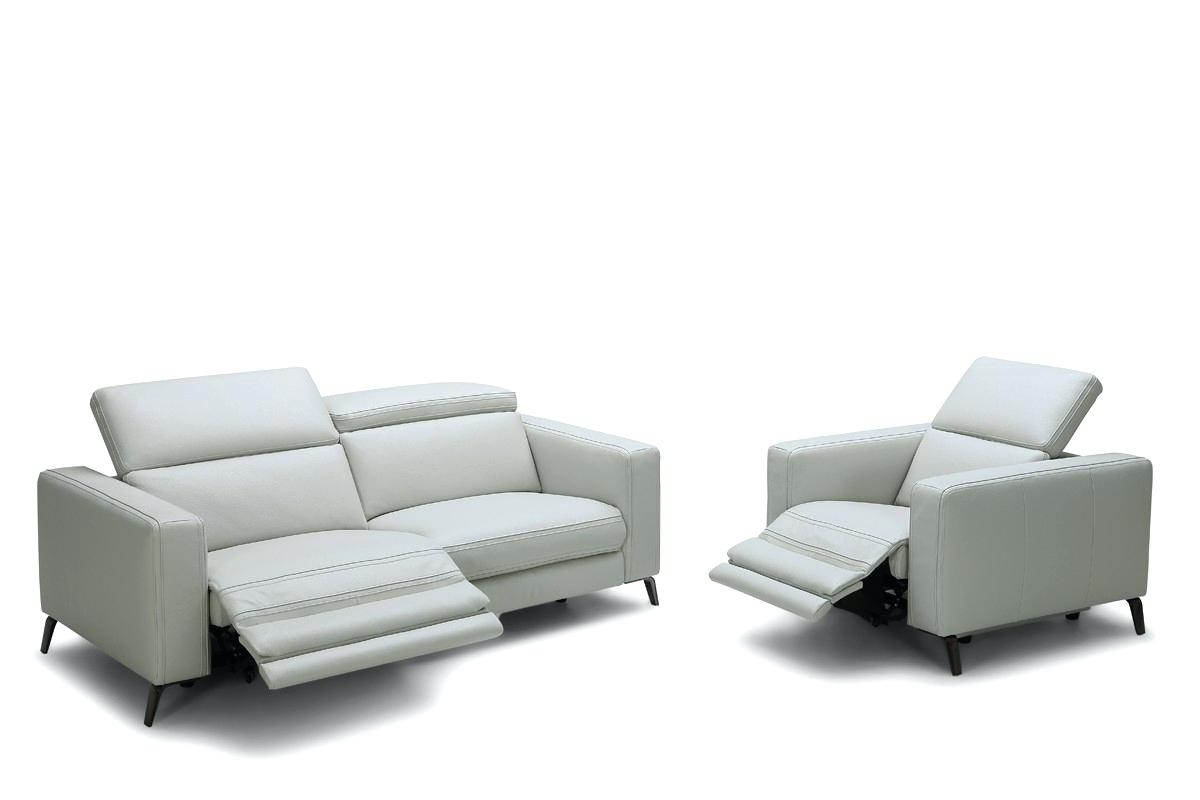 Featured Photo of Modern Reclining Leather Sofas