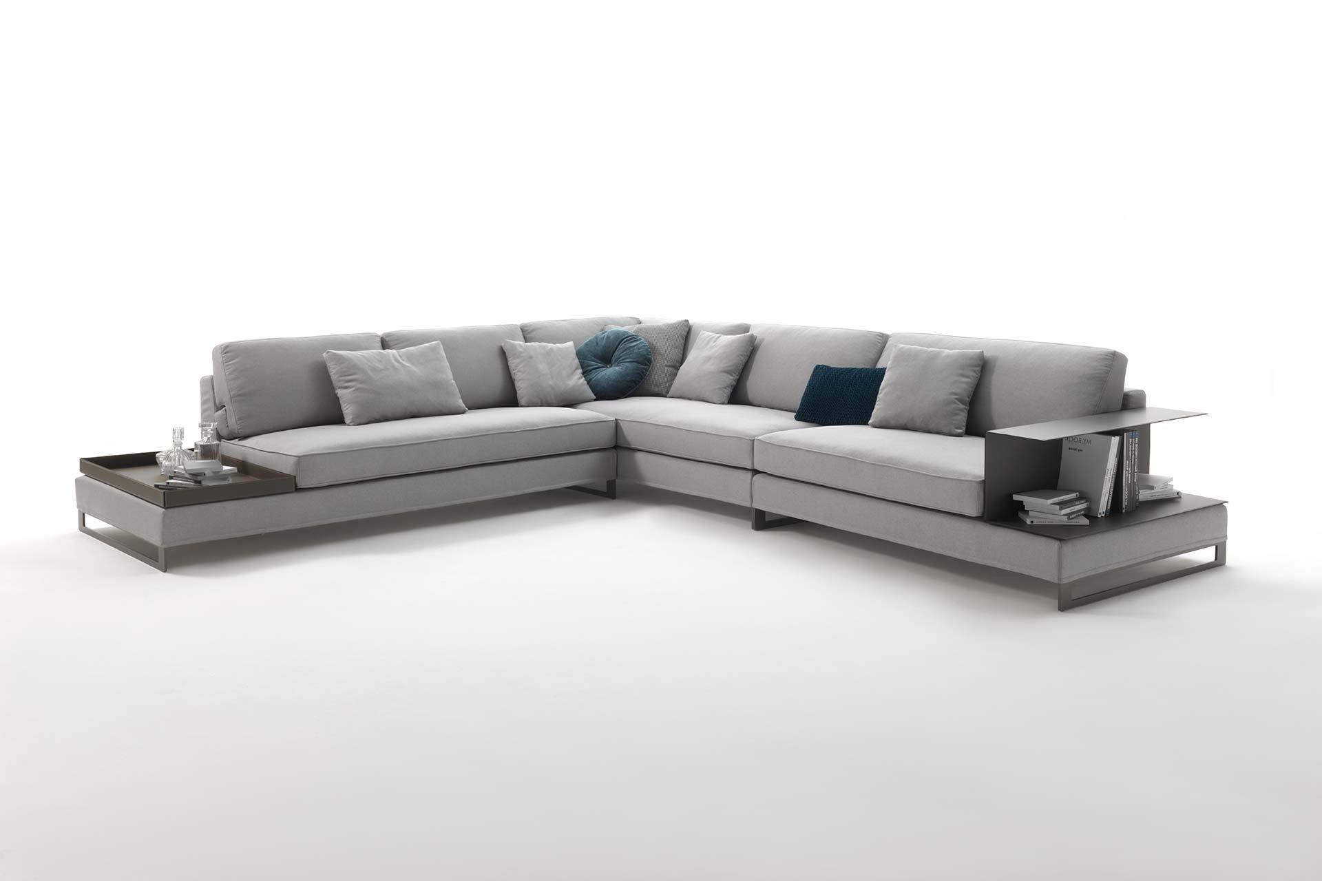 Preferred Modular Sofa / Contemporary / Fabric / Leather – Davis Case With Contemporary Fabric Sofas (View 16 of 20)