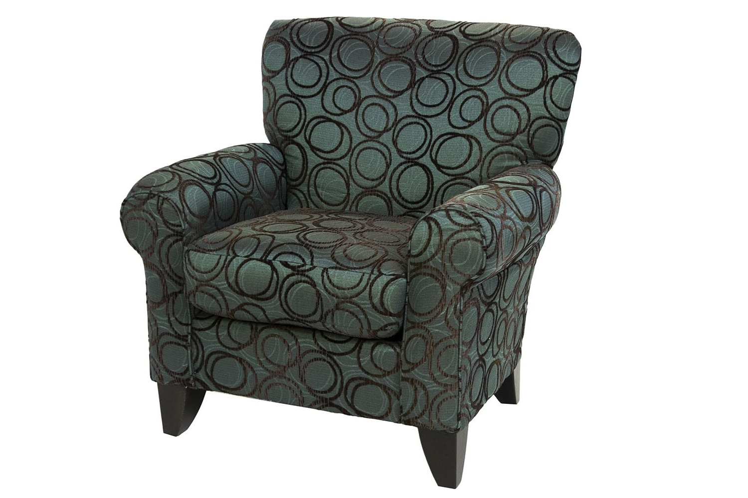 Preferred Napa Chocolate Accent Chair (View 9 of 20)